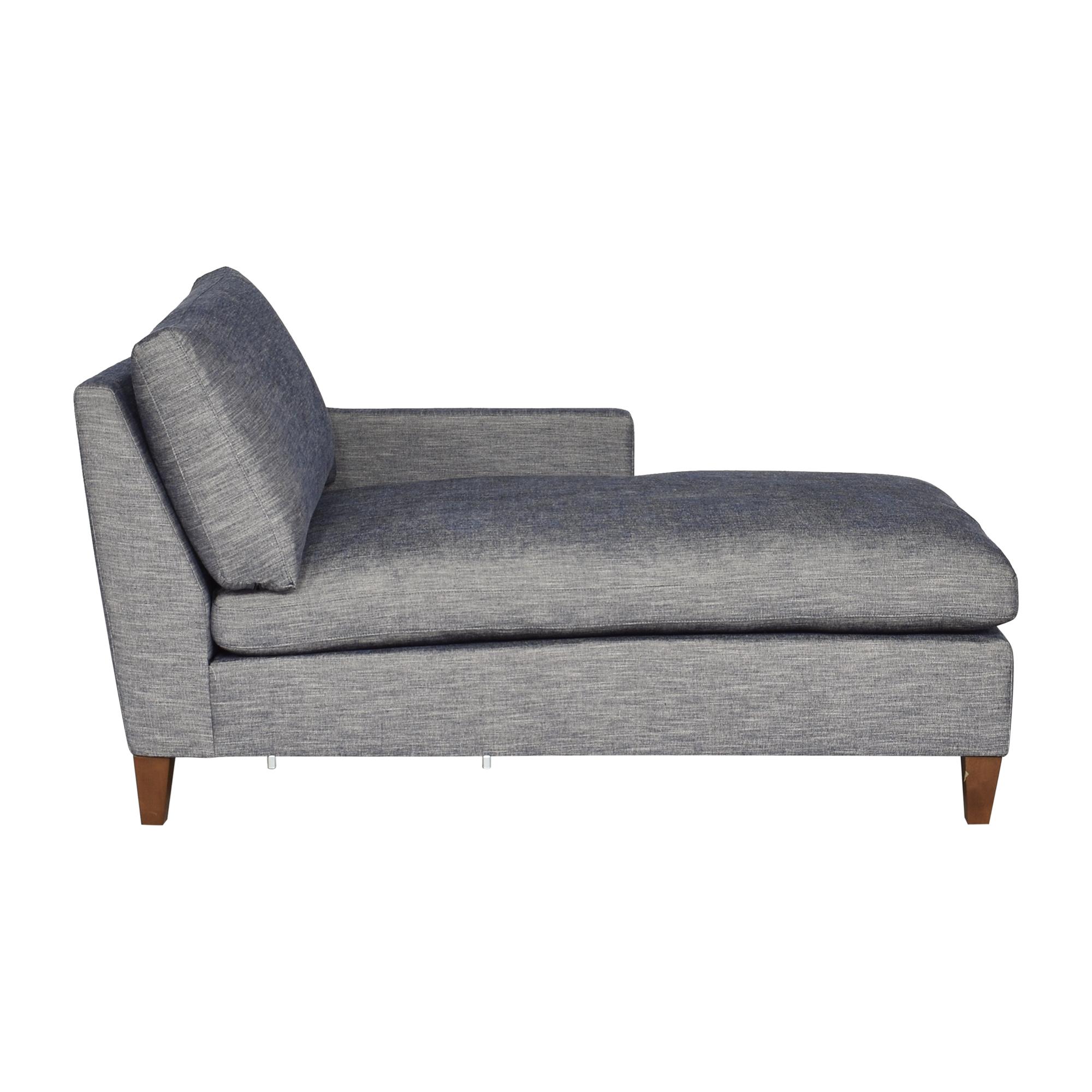buy BenchMade Modern Johnny Homemaker Chaise BenchMade Modern Sofas