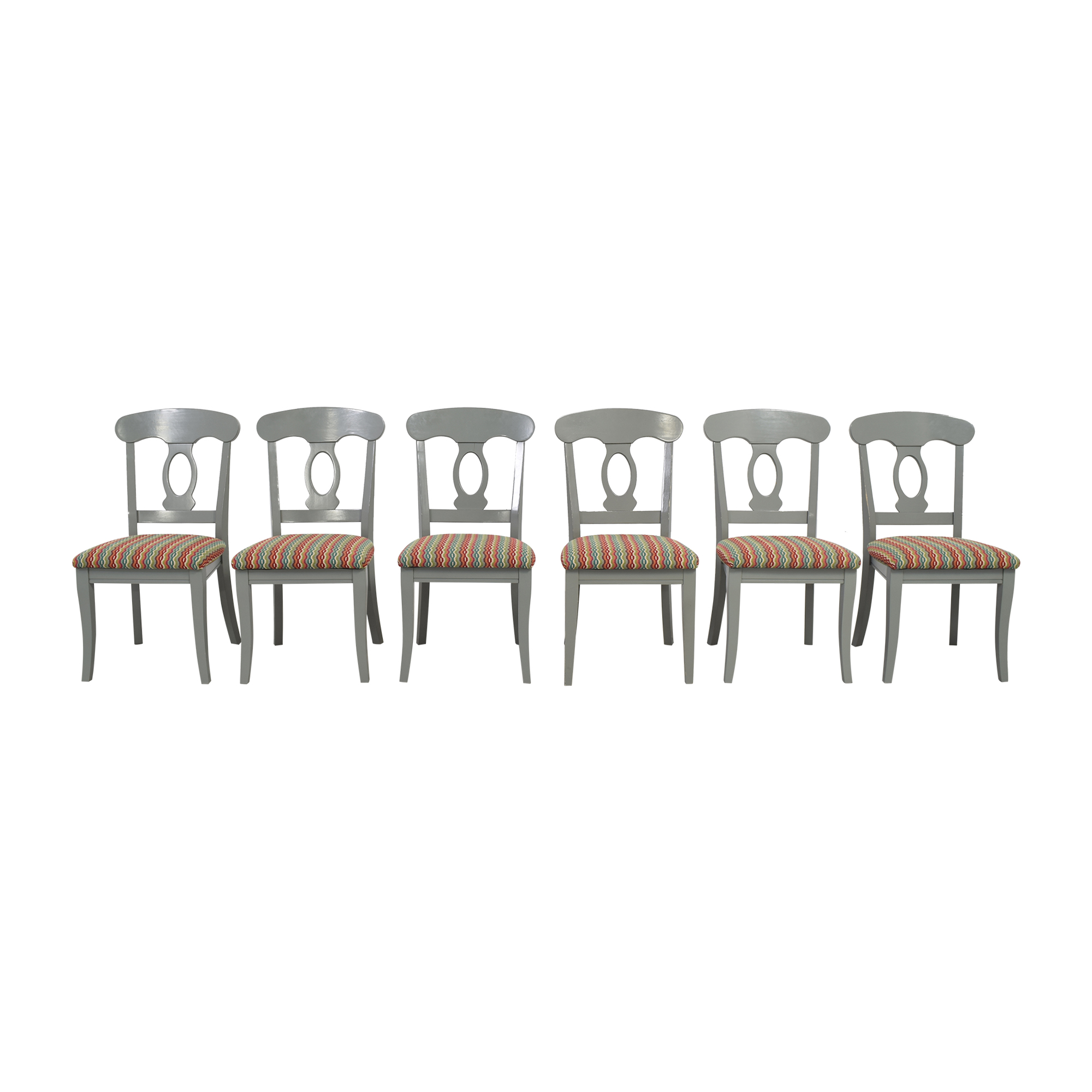 Bassett Furniture Upholstered Dining Side Chairs sale