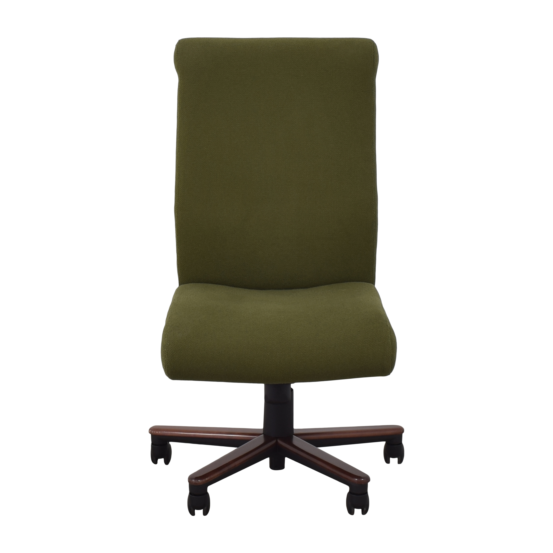 Jack Cartwright Jack Cartwright Swivel Desk Chair green & brown