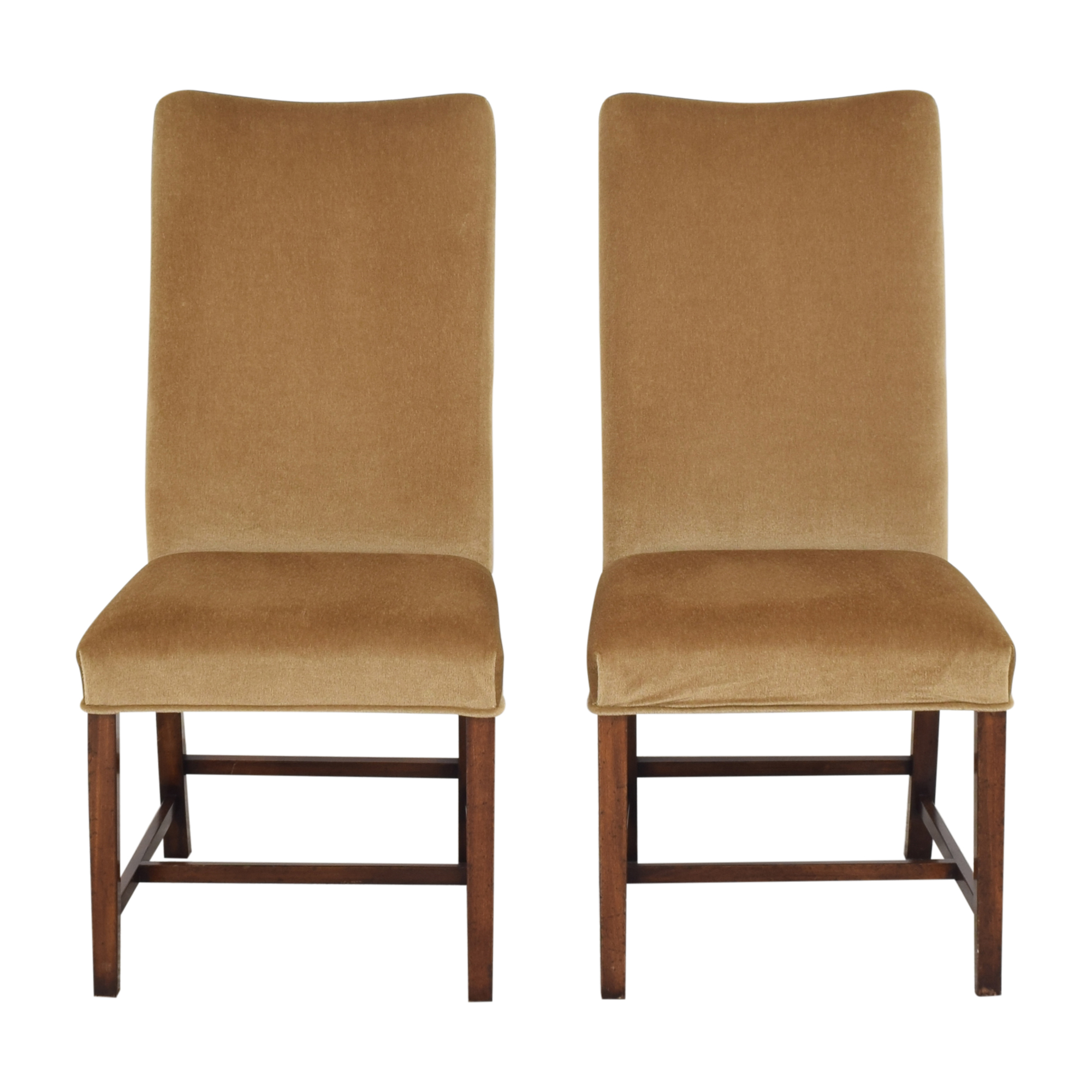 shop Holly Hunt High Back Dining Side Chairs Holly Hunt Dining Chairs
