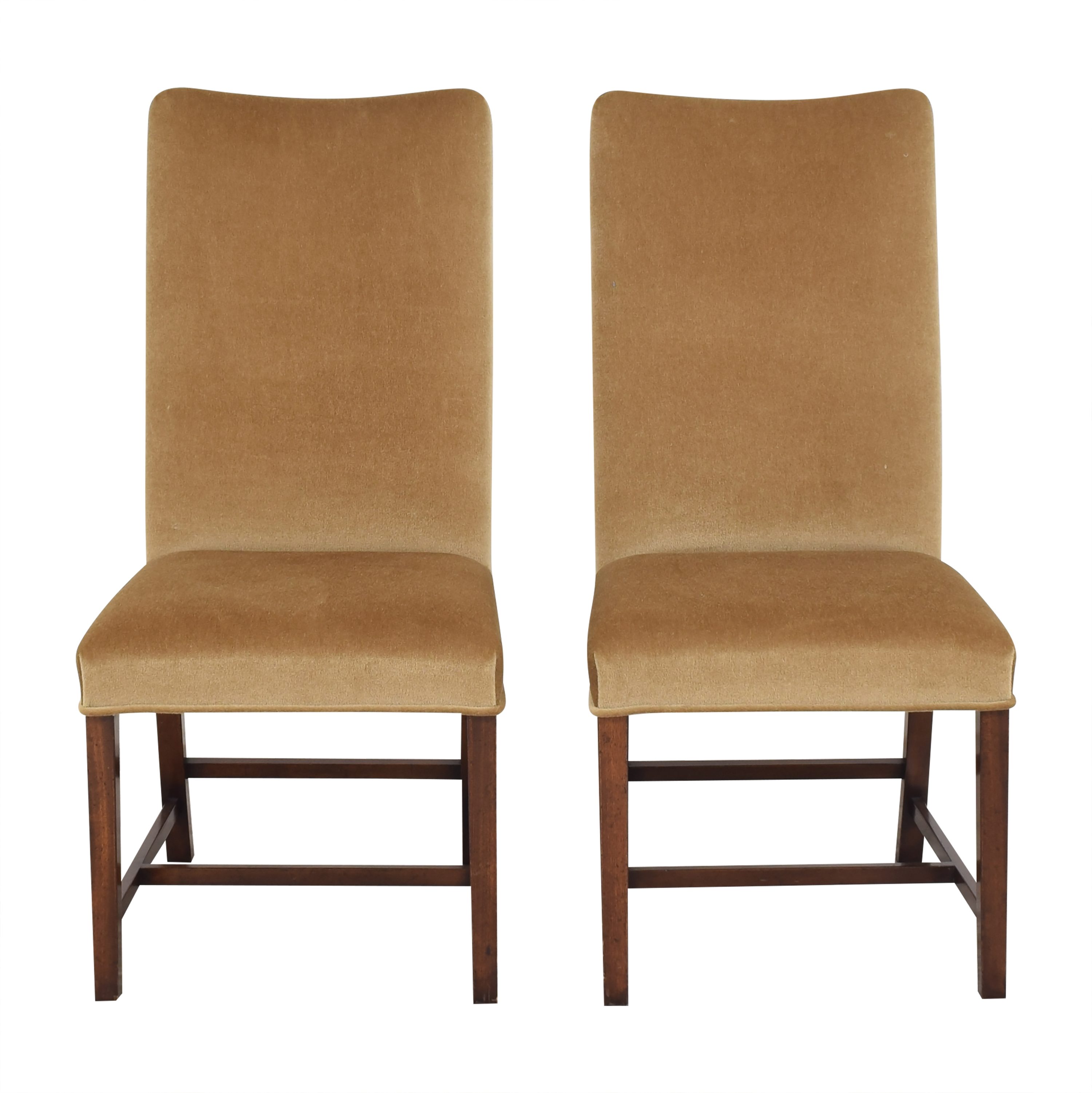 Holly Hunt Holly Hunt High Back Dining Side Chairs Dining Chairs