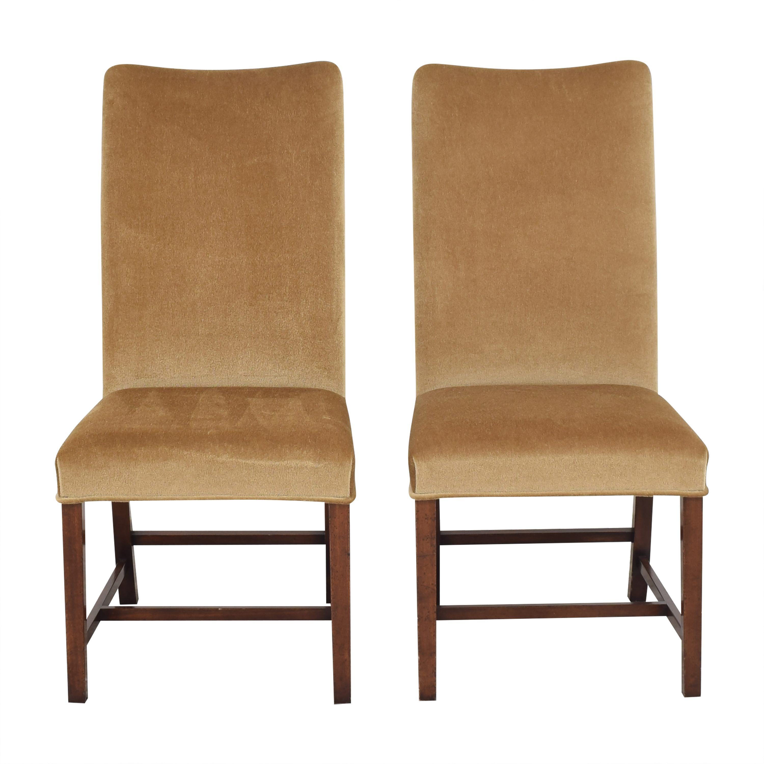 Holly Hunt Holly Hunt High Back Dining Side Chairs pa