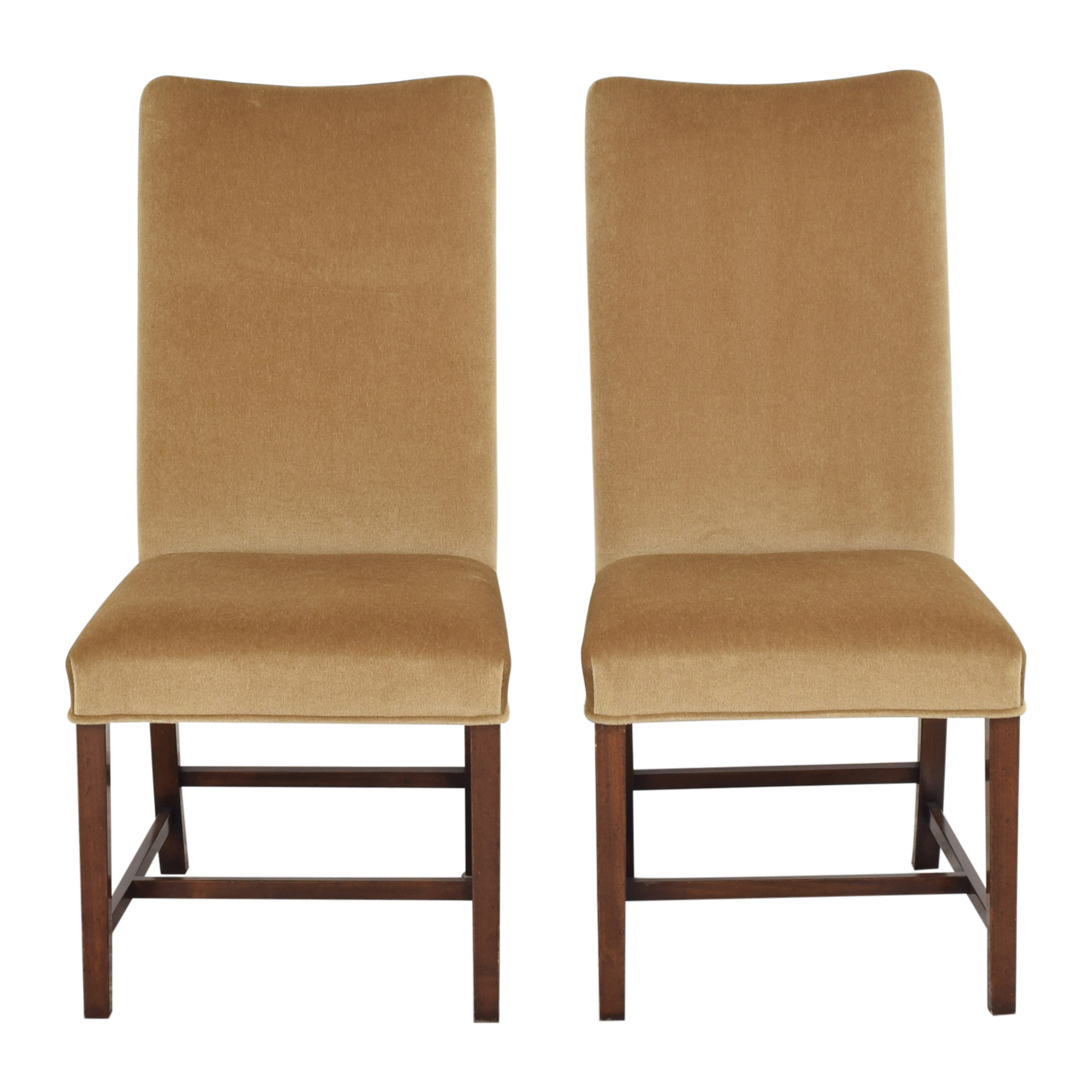 Holly Hunt Holly Hunt High Back Dining Side Chairs discount