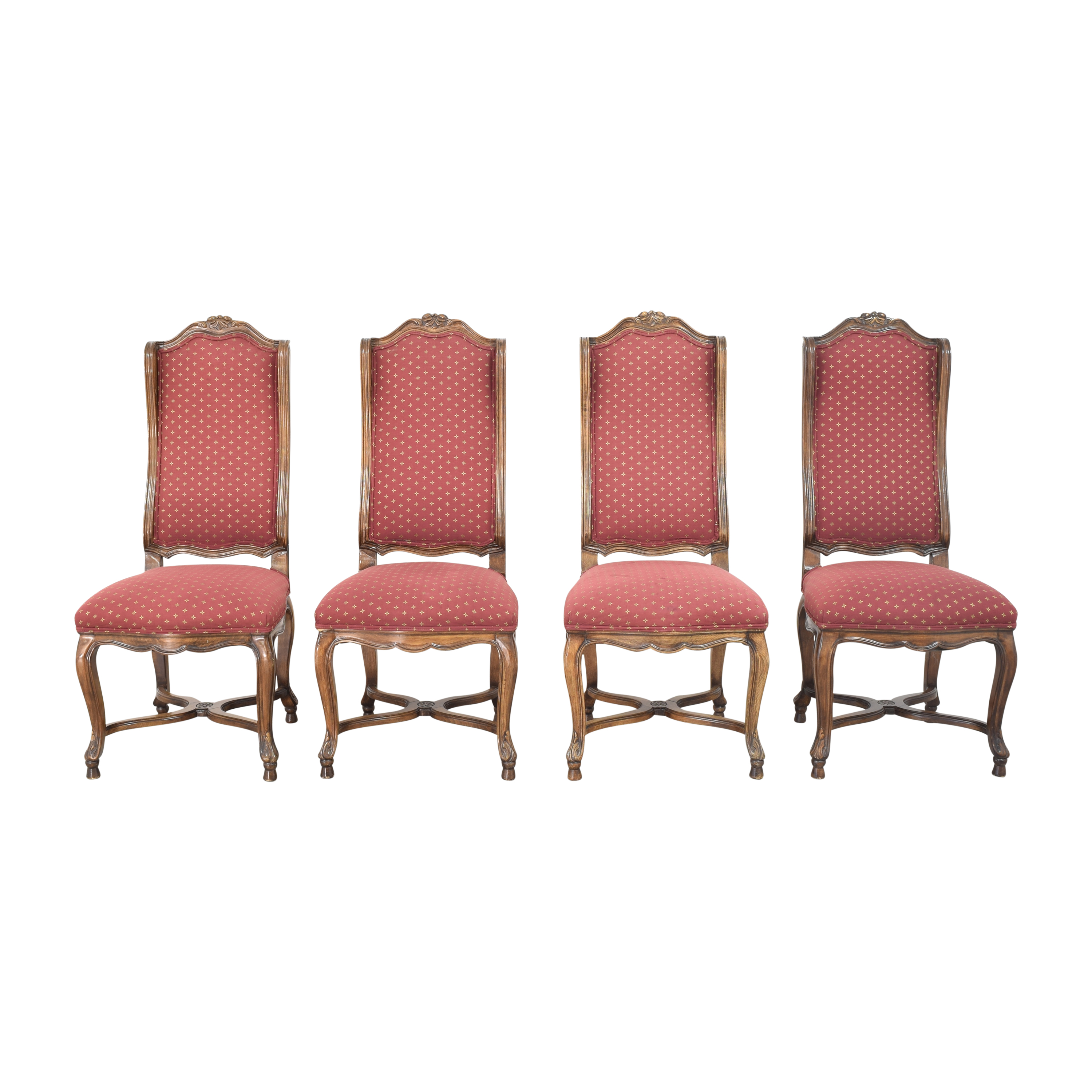 High Wingback Dining Chairs sale
