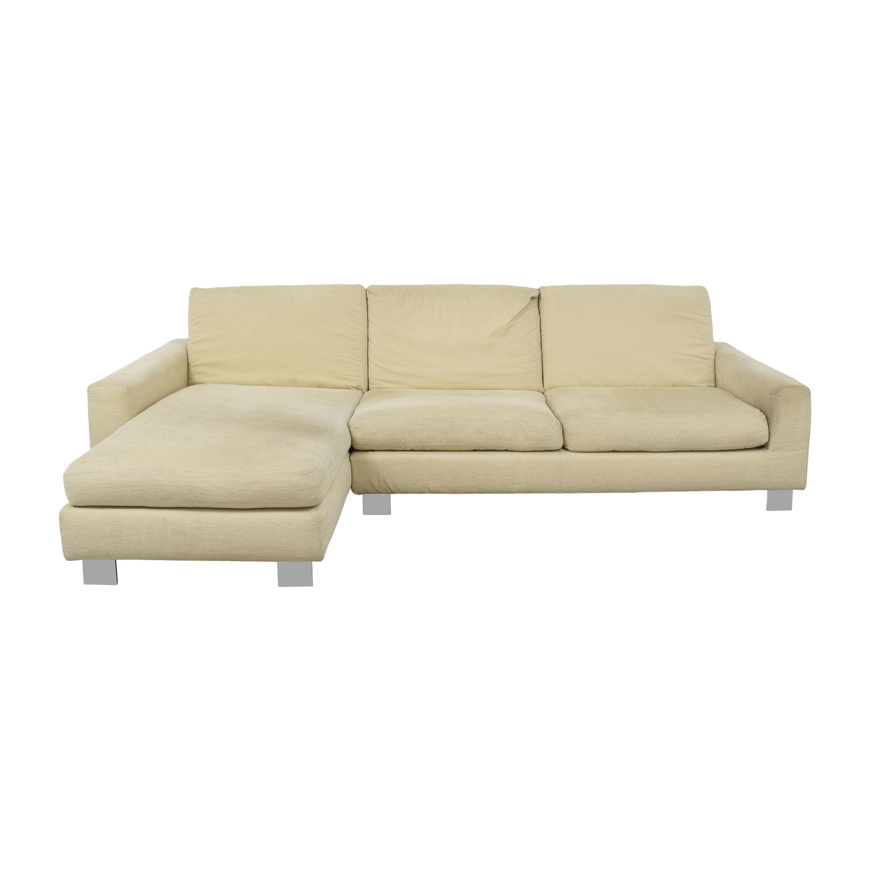 Bontempi Bontempi Portese Chaise Sectional Sofa nj