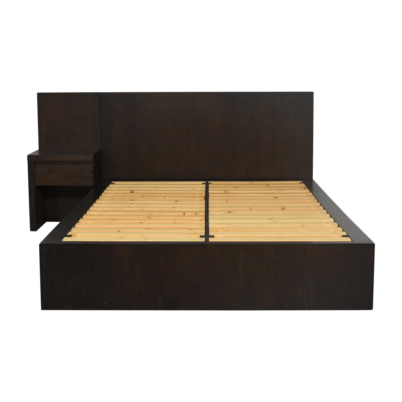 shop West Elm Queen Storage Bed with Nightstand West Elm Beds