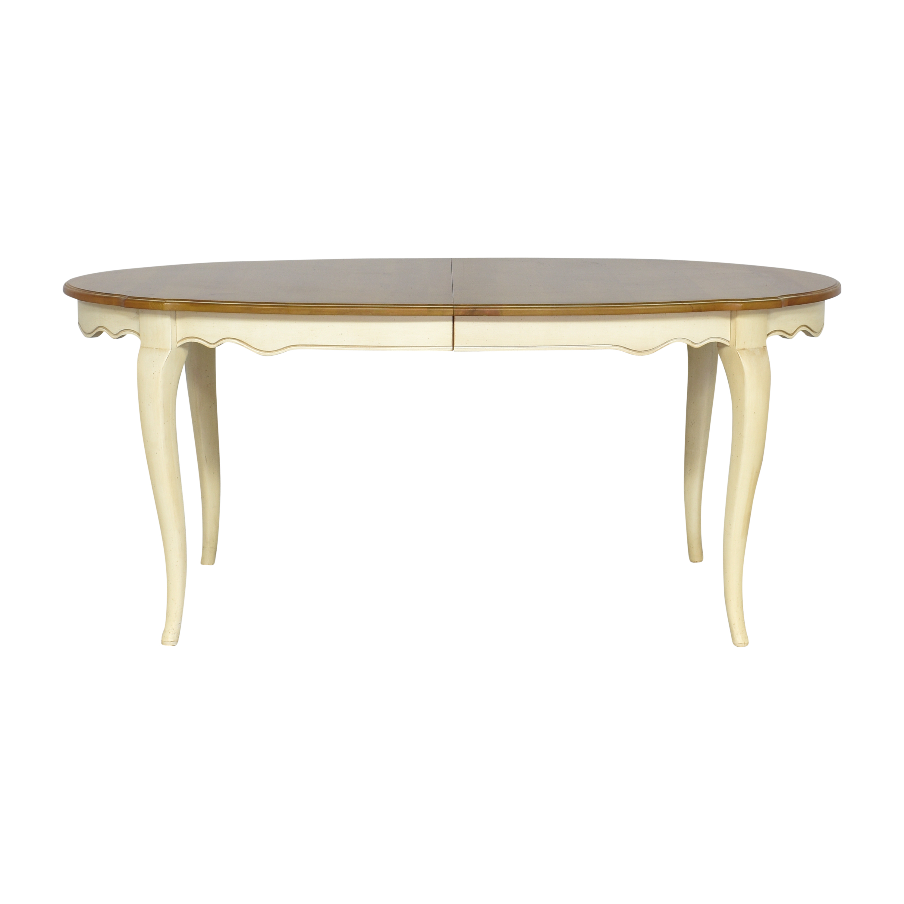 Ethan Allen Ethan Allen Country French Extendable Dining Table for sale