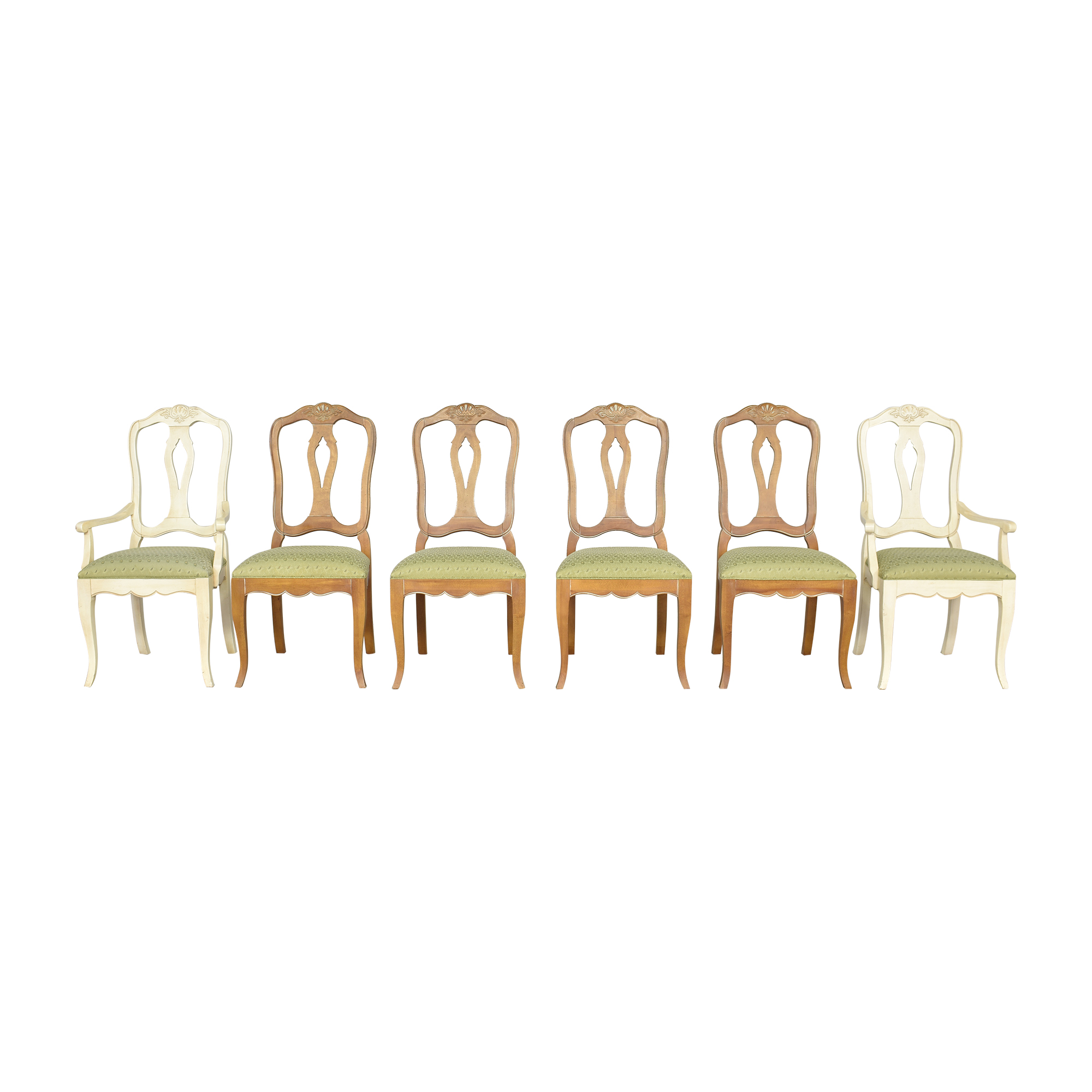 shop Ethan Allen Country French Dining Chairs Ethan Allen