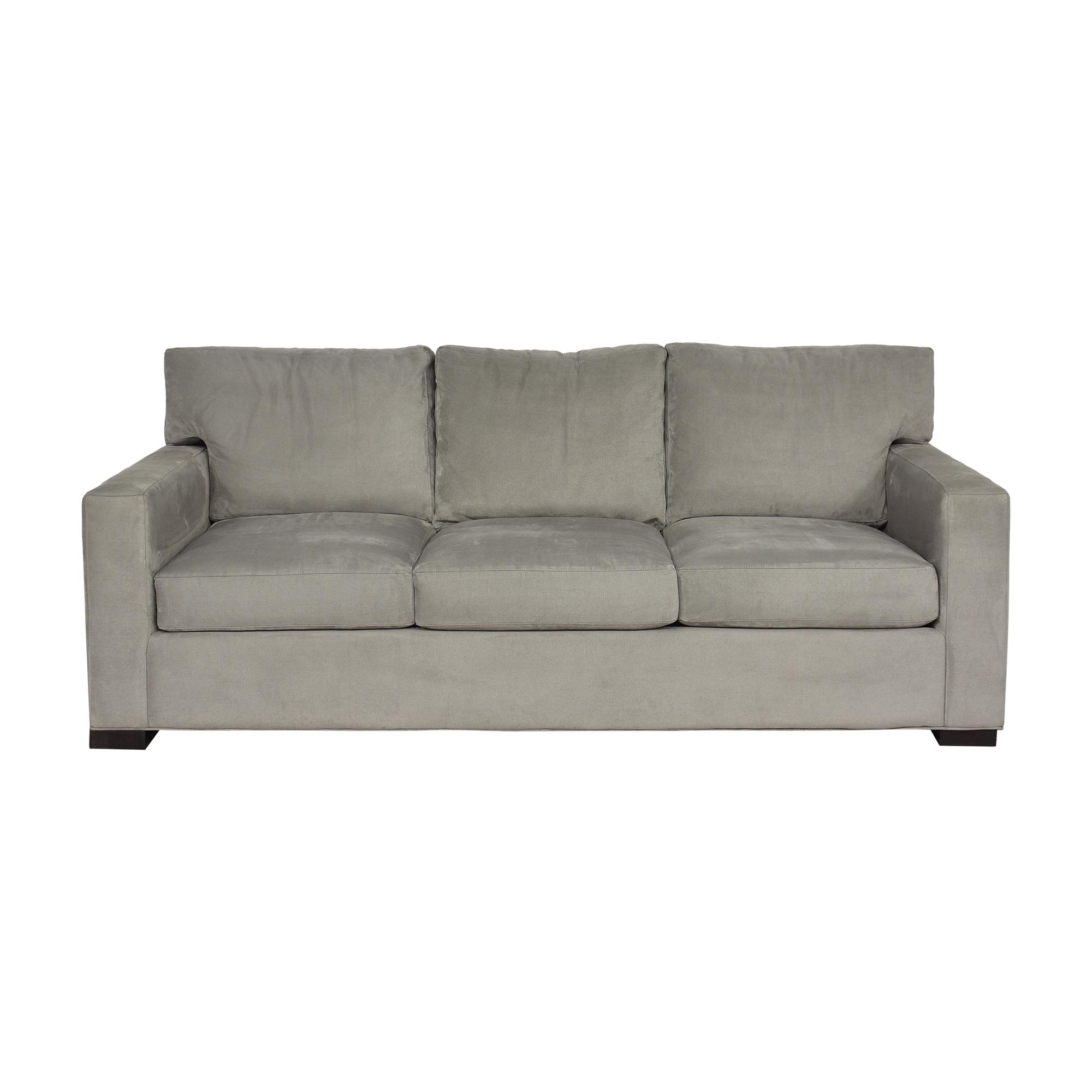 Crate & Barrel Axis Three-Seat Sofa / Classic Sofas