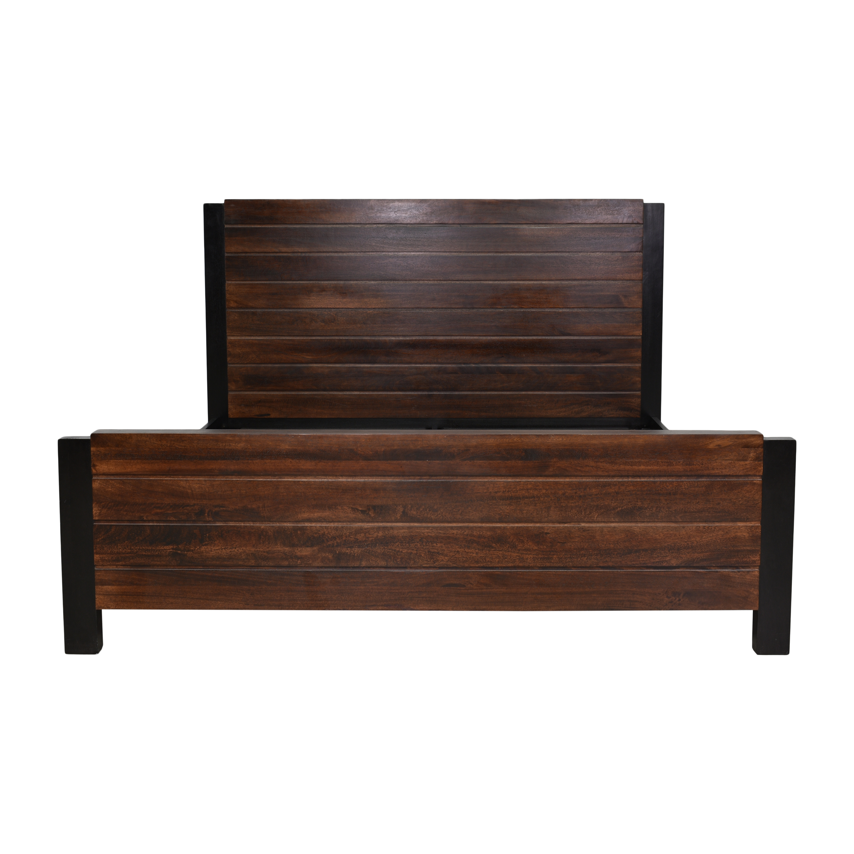 buy Crate & Barrel Forsyth King Bed Crate & Barrel Bed Frames