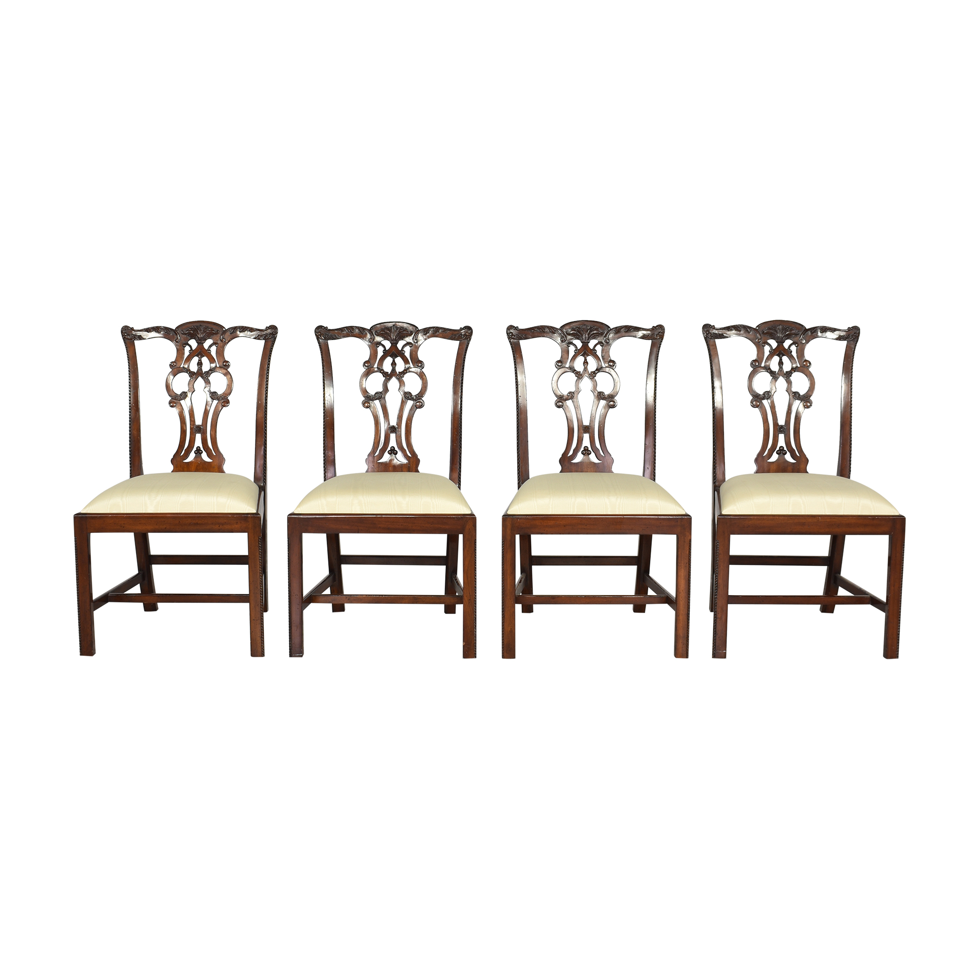 Maitland-Smith Maitland-Smith Chippendale Dining Chairs pa