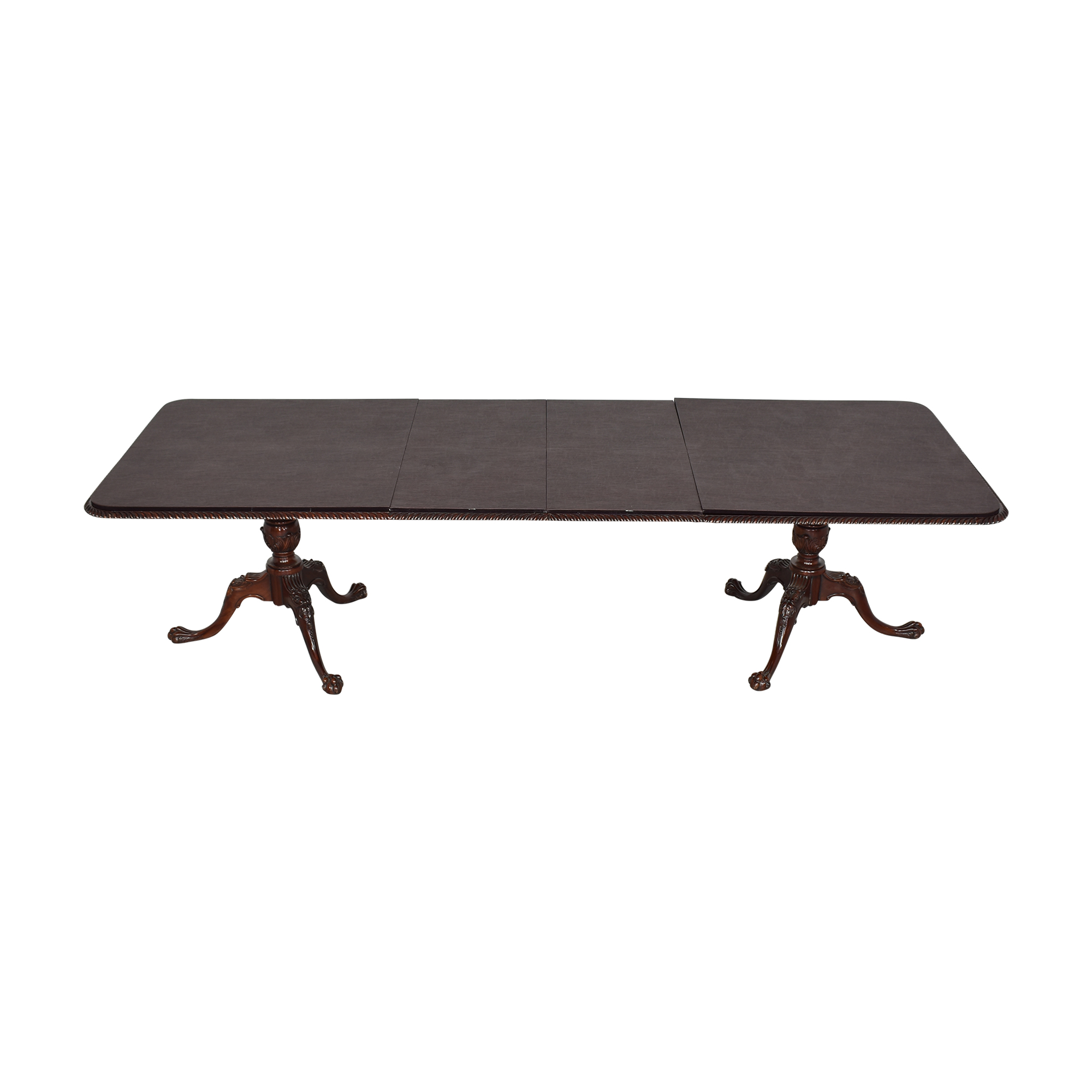 buy EuroLux Rope Edge Extendable Dining Table EuroLux Dinner Tables
