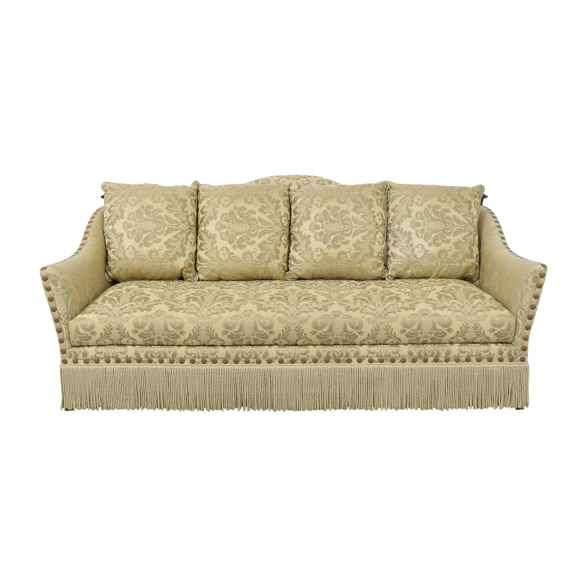 Ferguson Copeland Fringed Sofa / Sofas