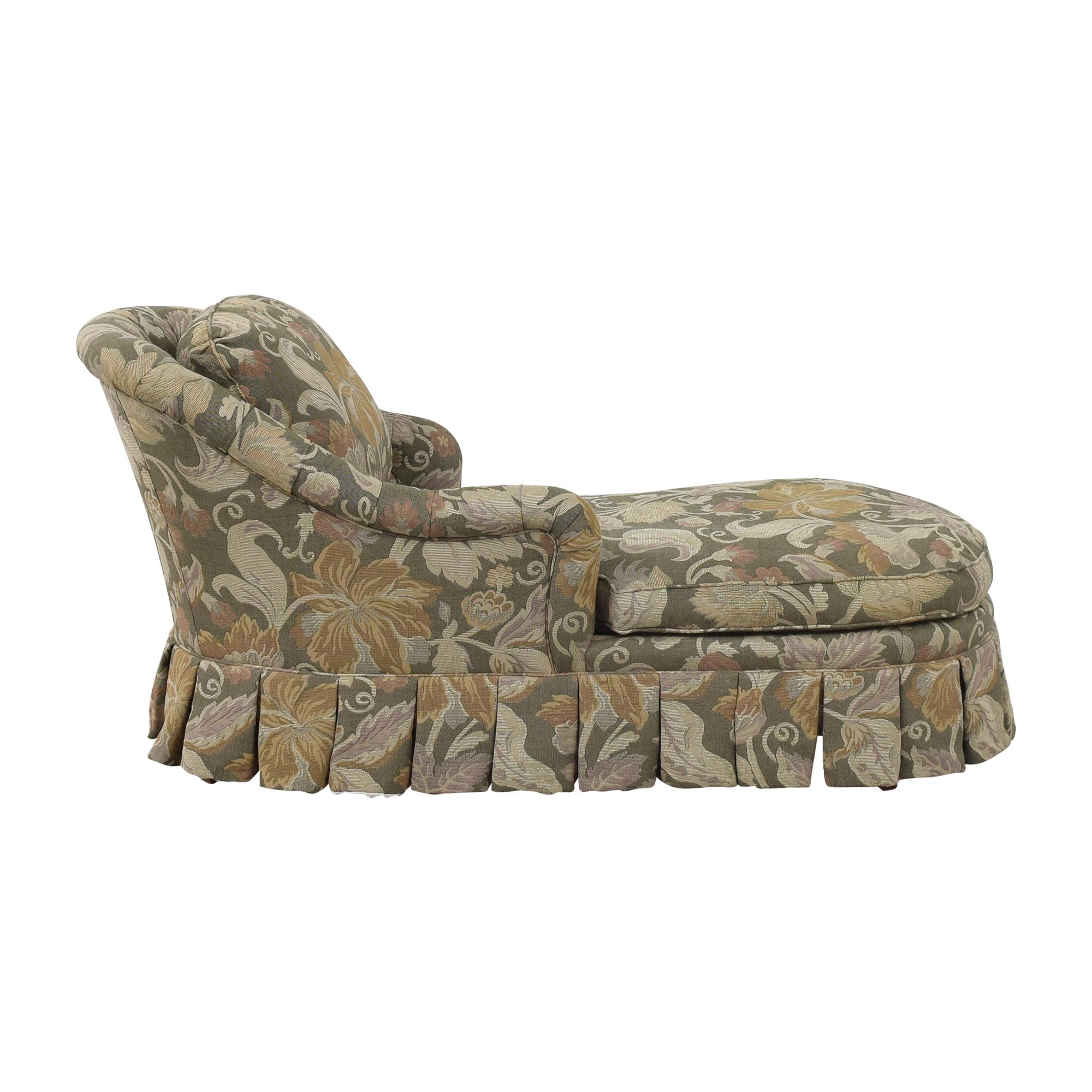 Beacon Hill Collection Beacon Hill Collection Upholstered Chaise nj