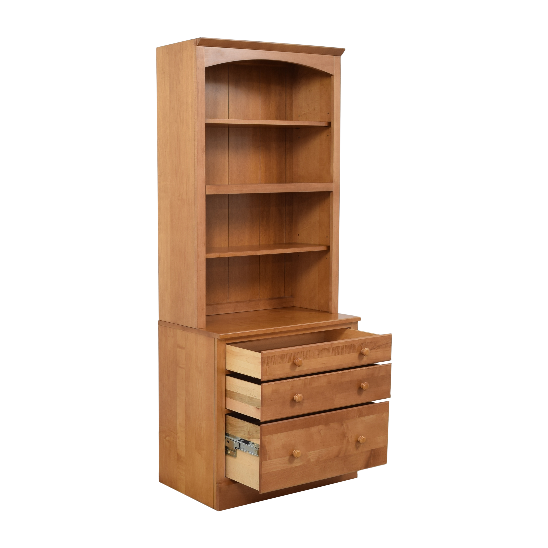 shop Ethan Allen Country Colors Bookcase Ethan Allen Storage