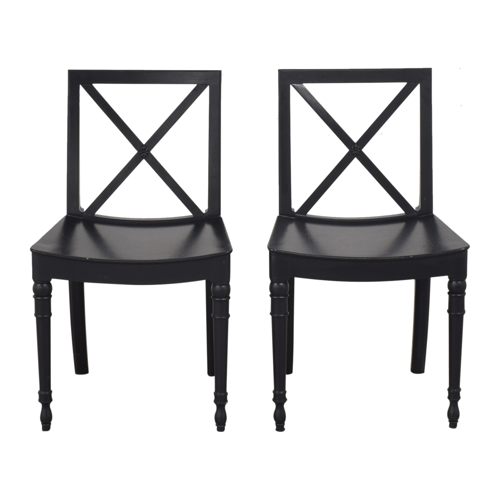 X Back Dining Chairs used