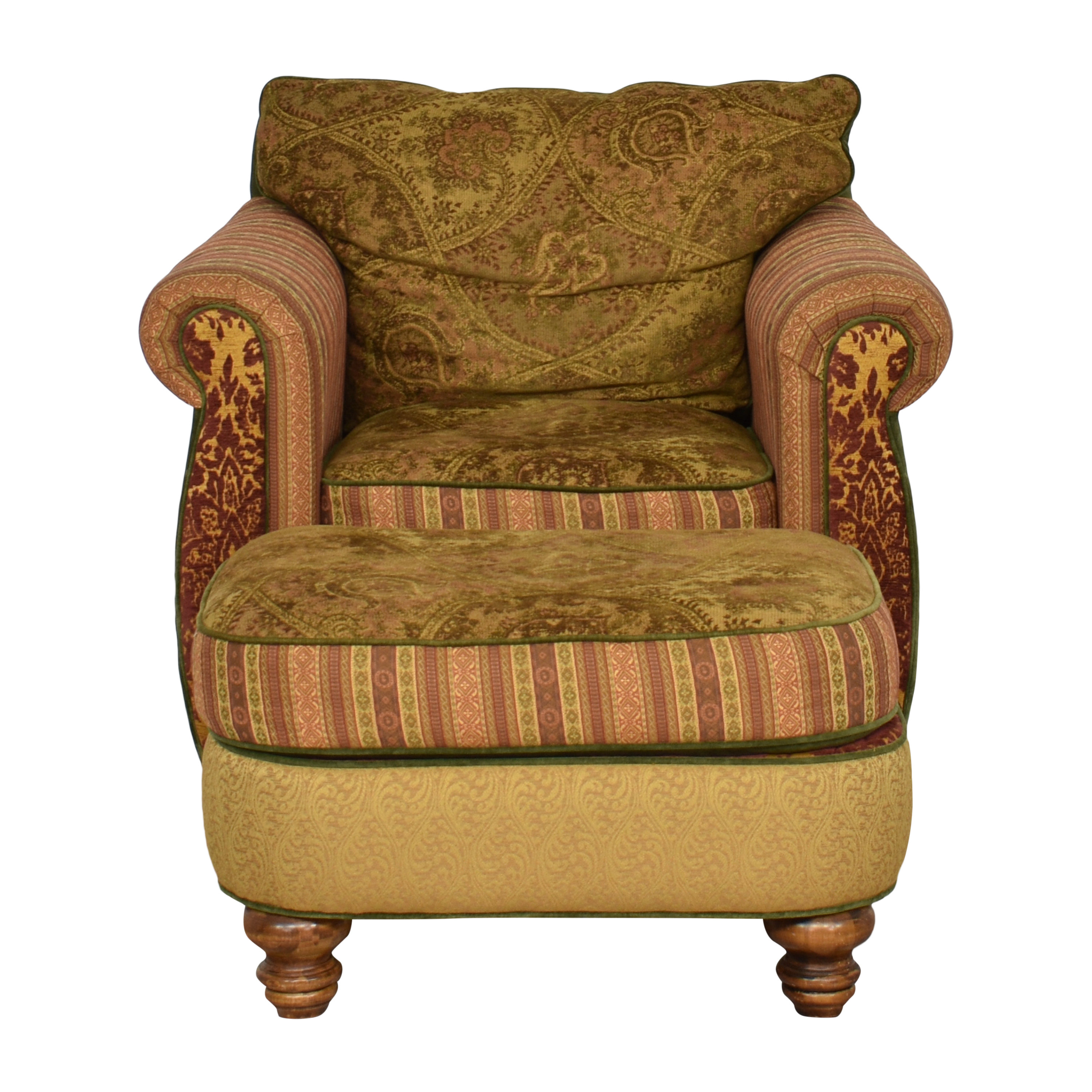 Kincaid Furniture Kincaid Furniture Accent Chair with Ottoman for sale