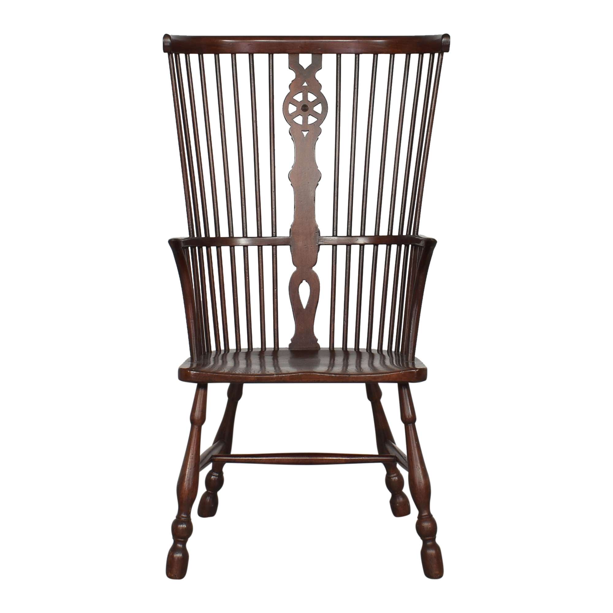 Thomas Glenister Company Thomas Glenister Fiddle Back Windsor Arm Chair coupon