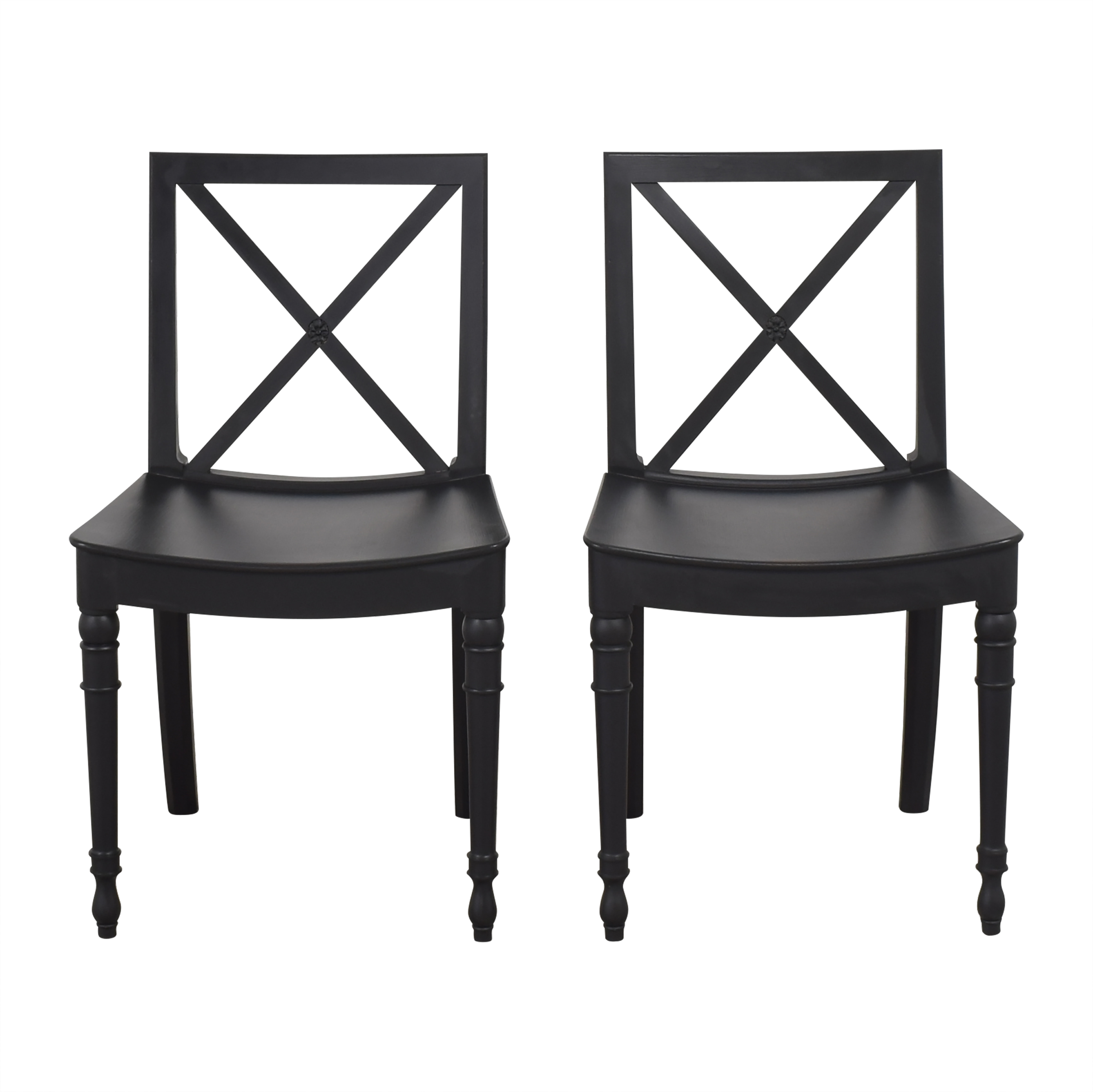 X Back Dining Chairs for sale