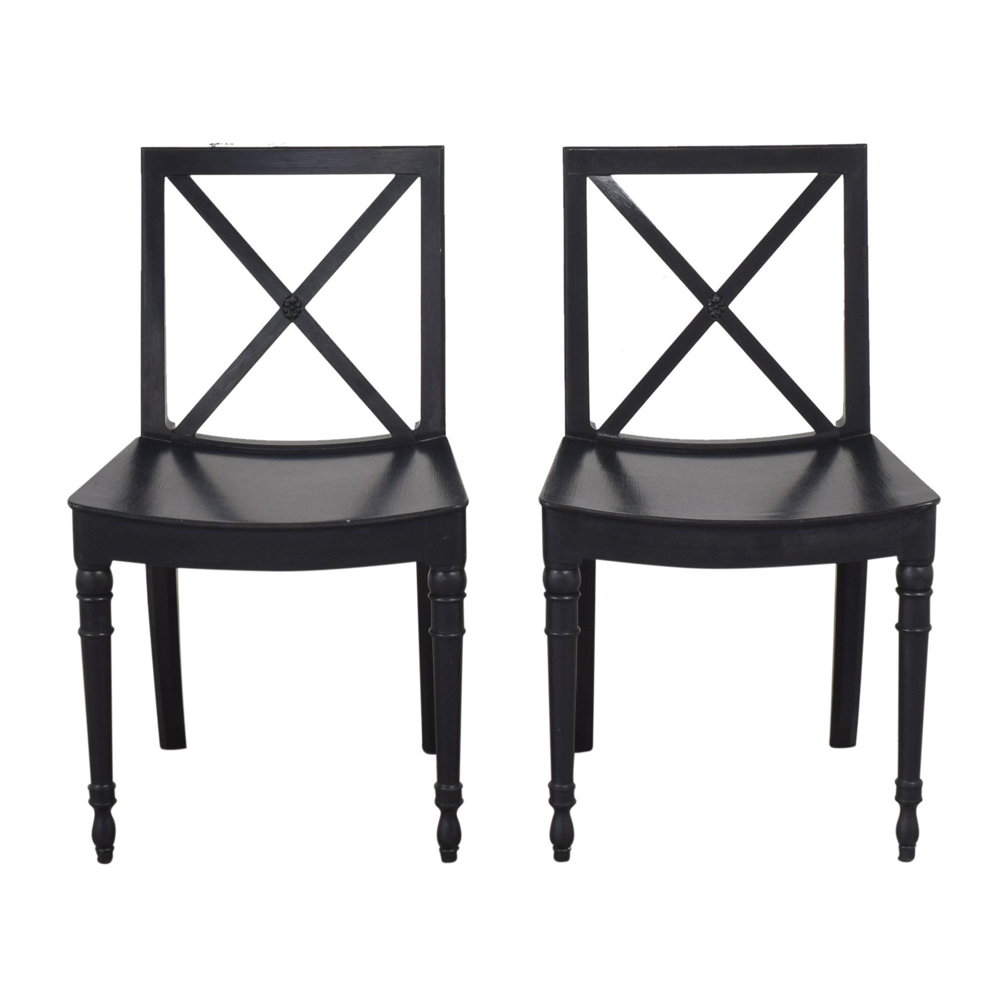 X Back Dining Chairs dimensions