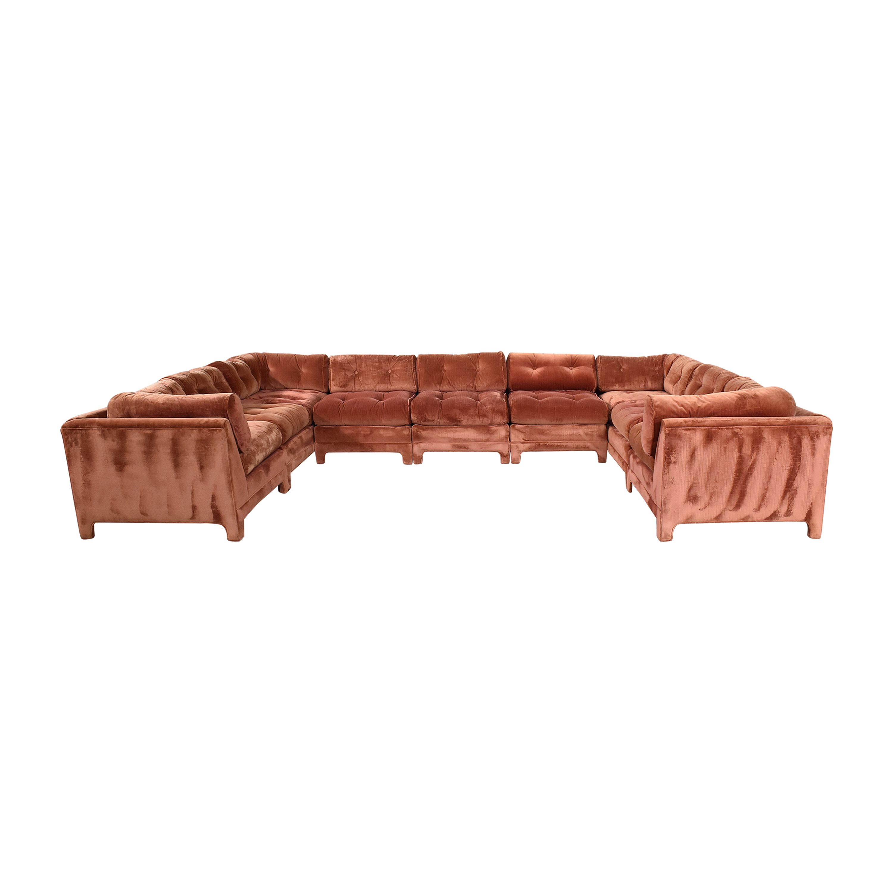 Century Furniture Century Furniture L Shaped Sectional dimensions
