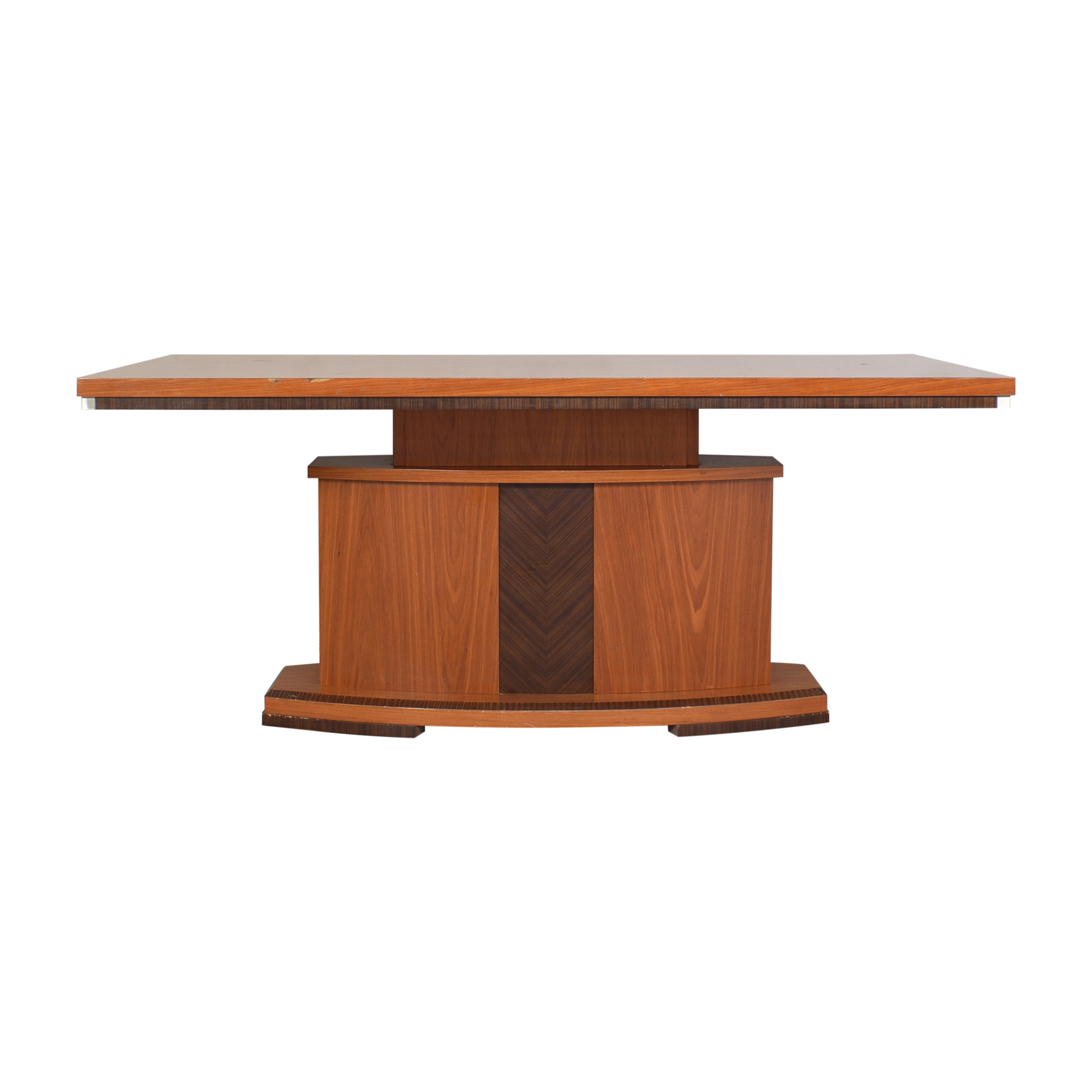 Modern-Style Pedestal Dining Table ct