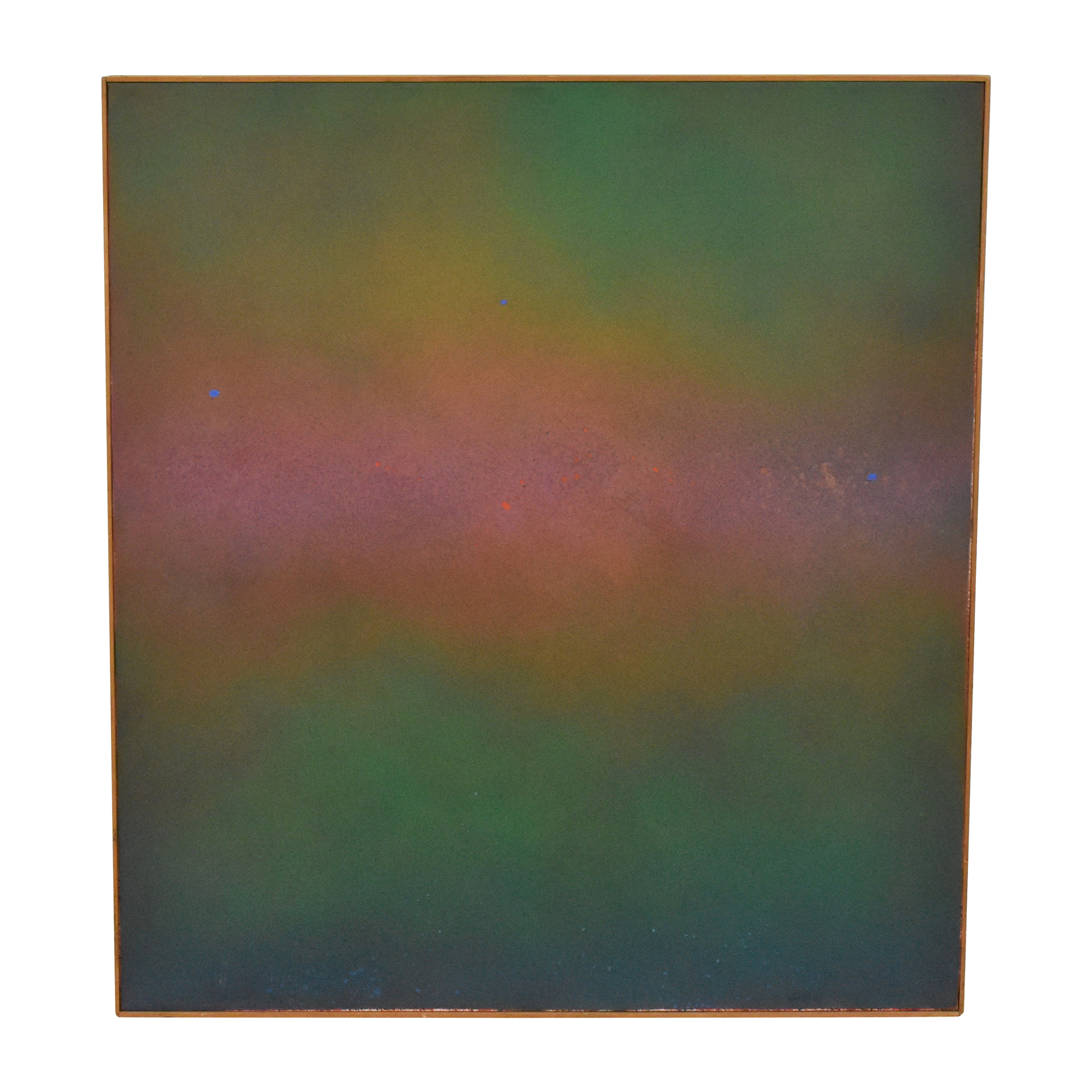 Sun Over Water Abstract Wall Art multi