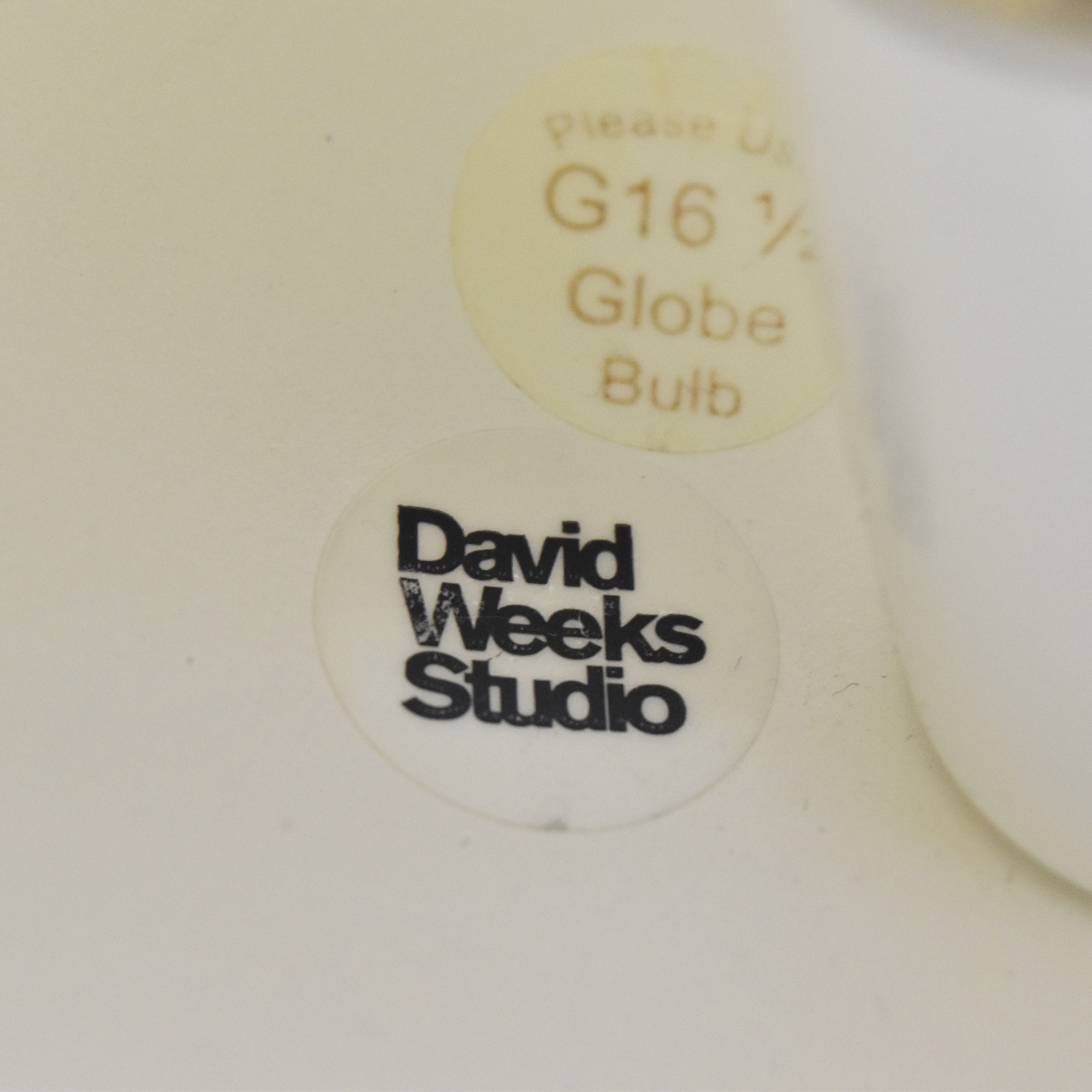 David Weeks Studio David Weeks Studio Cement Standing Lamp pa