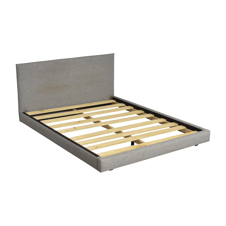 buy CB2 Façade Queen Bed CB2 Beds