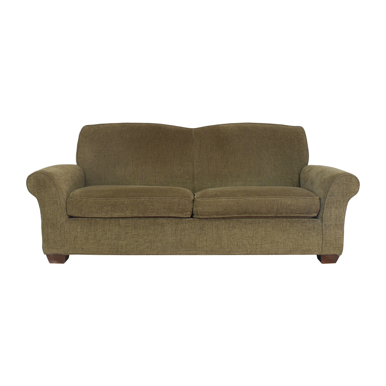 shop Crate & Barrel Two Cushion Sofa Crate & Barrel