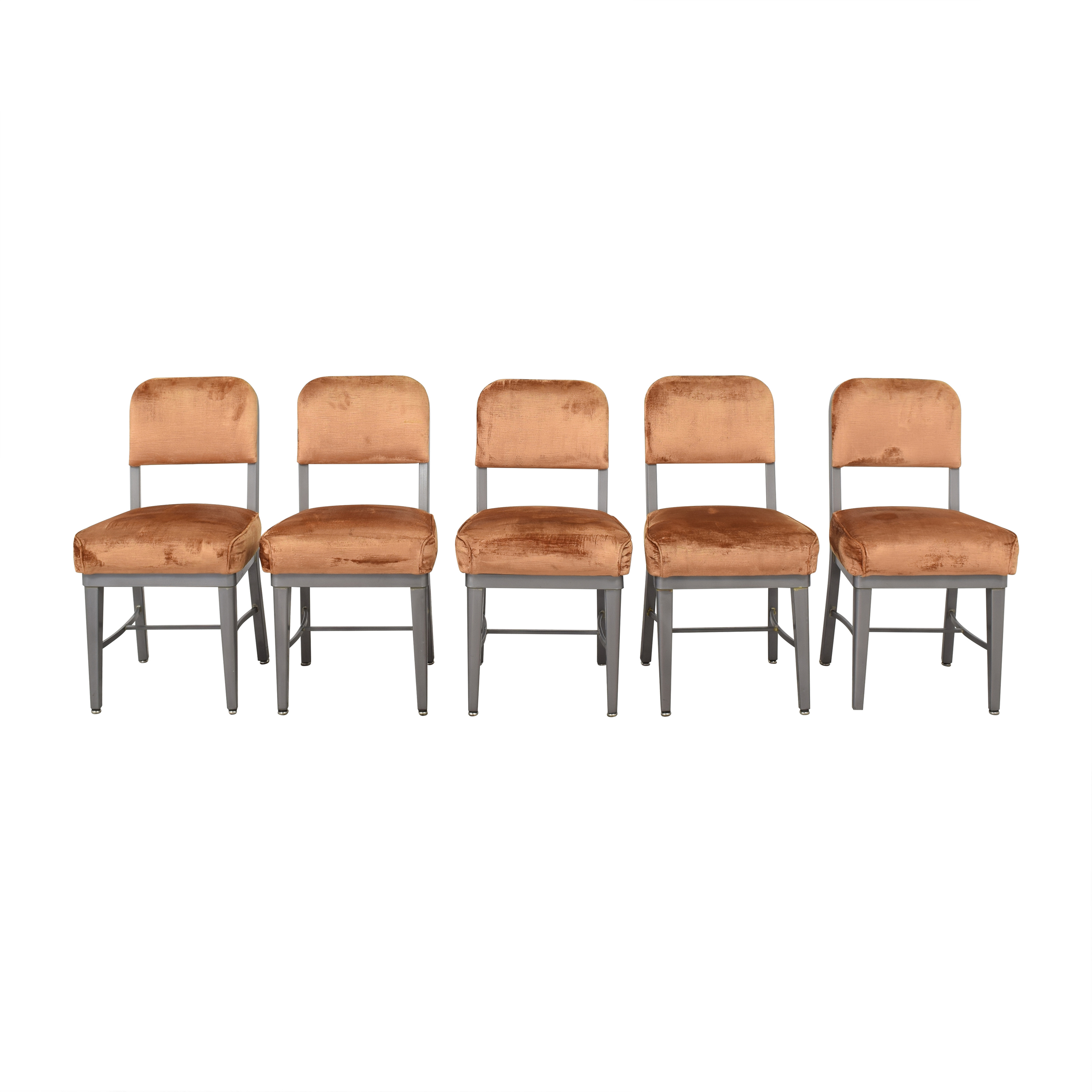 shop Upholstered Retro Style Dining Chairs  Dining Chairs