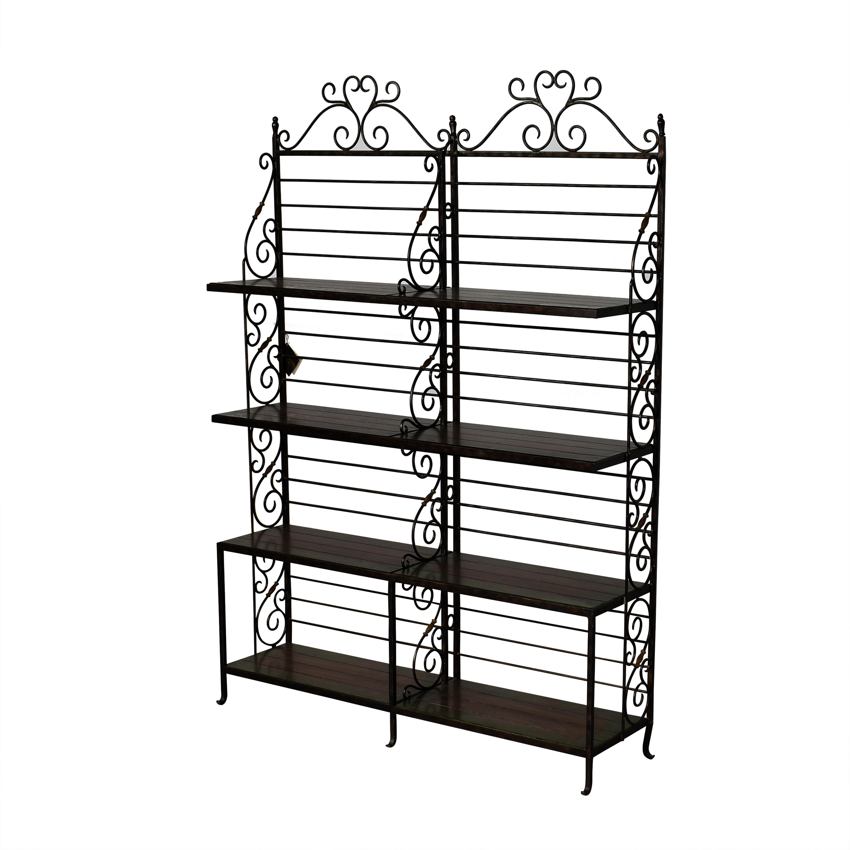 Maitland-Smith Bakers Rack / Storage