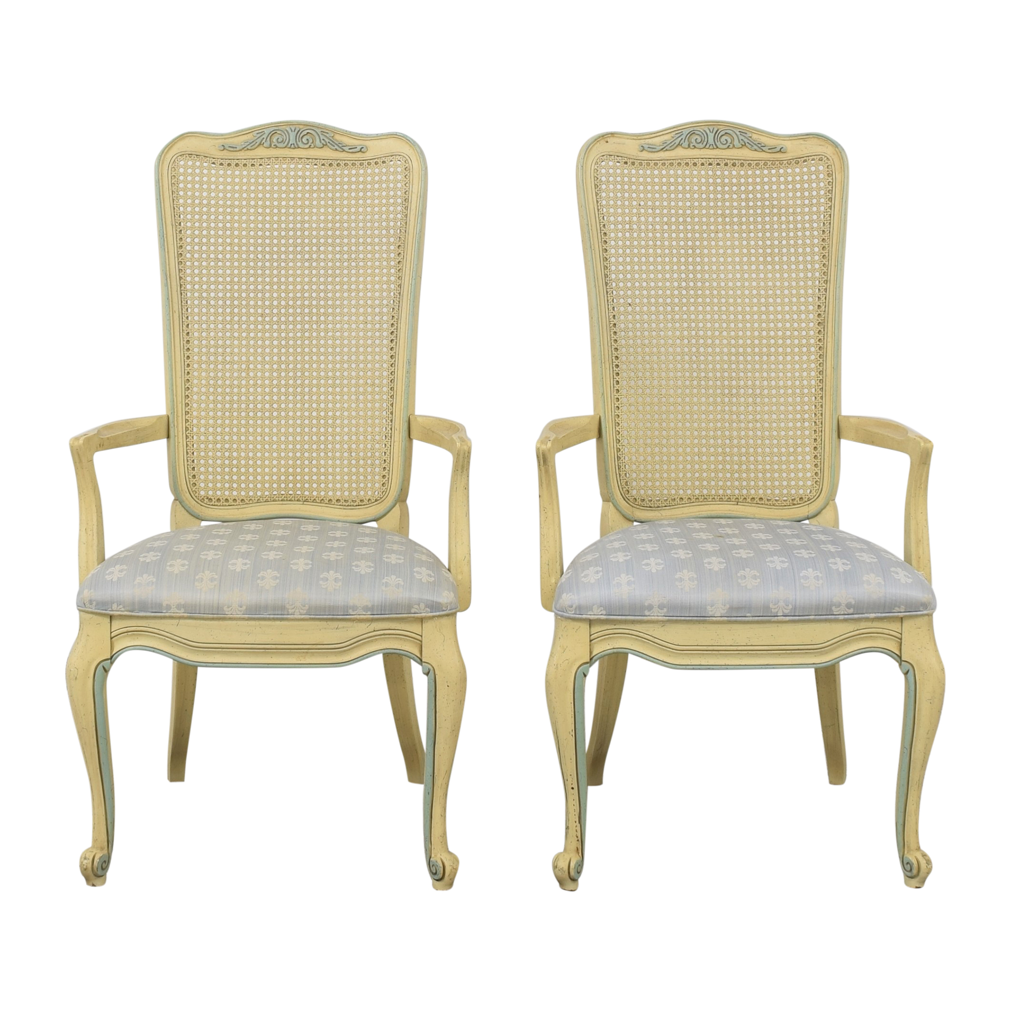 shop White Fine Furniture Dining Arm Chairs White Fine Furniture Chairs