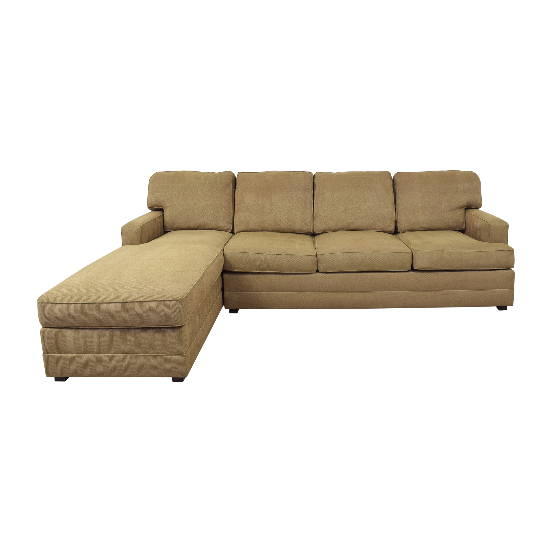 Henredon Furniture Henredon Sectional Sofa with Chaise used