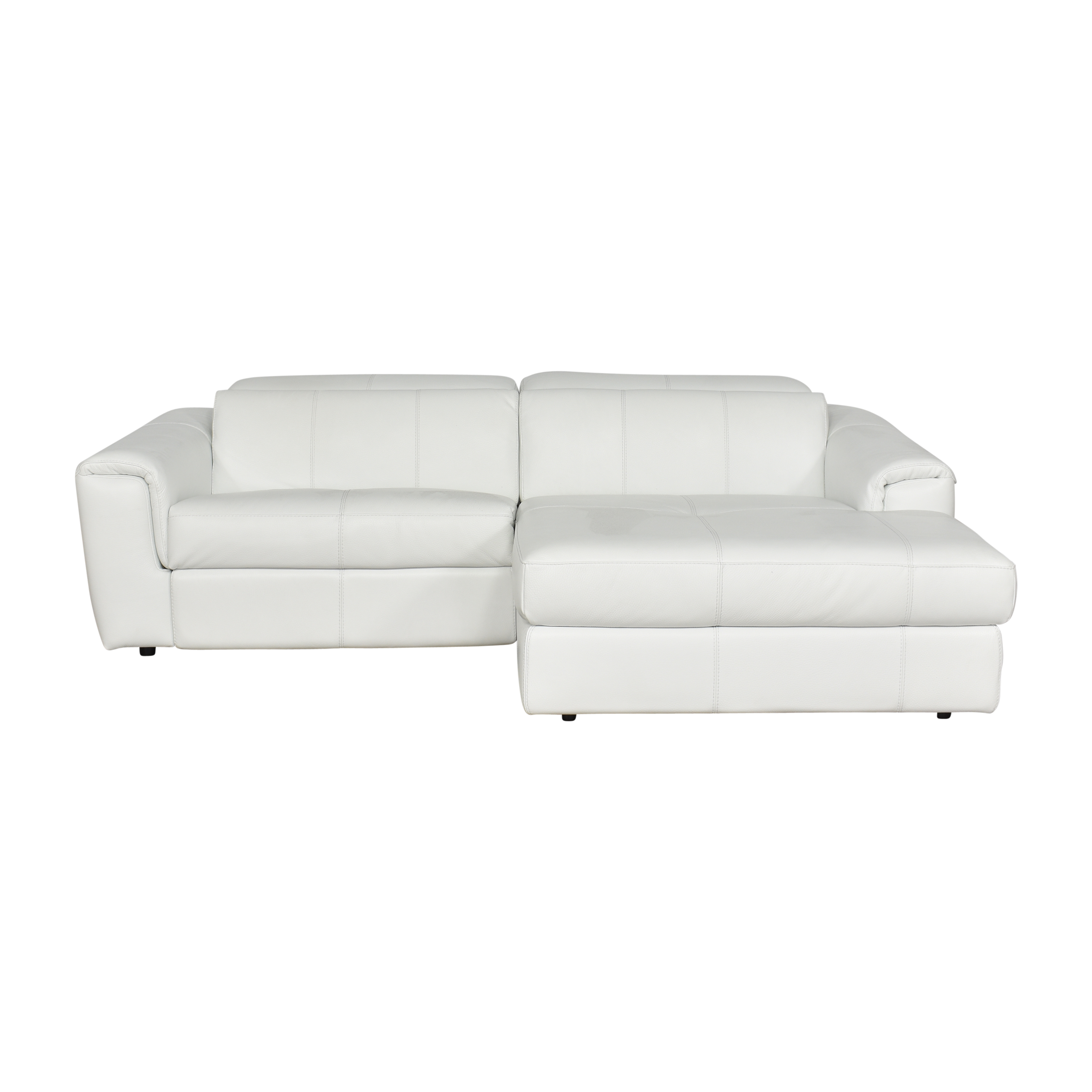 Nicoletti Home Nicoletti Palermo Two Piece Motion Sectional ct