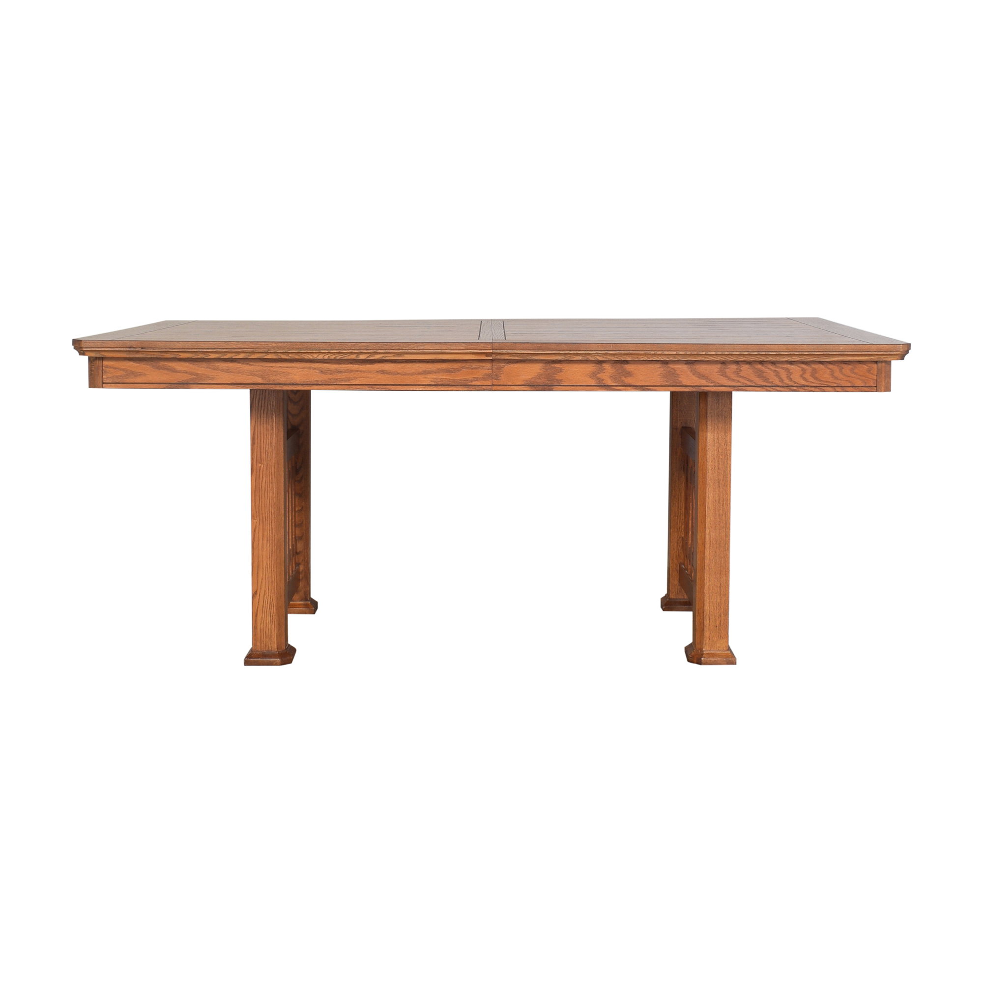 Huffman Koos Huffman Koos Mission Extendable Dining Table dimensions