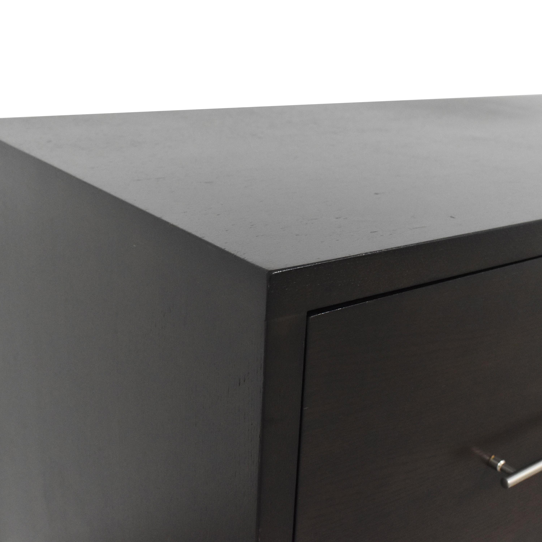shop West Elm Narrow Leg Two-Drawer Dresser West Elm Storage