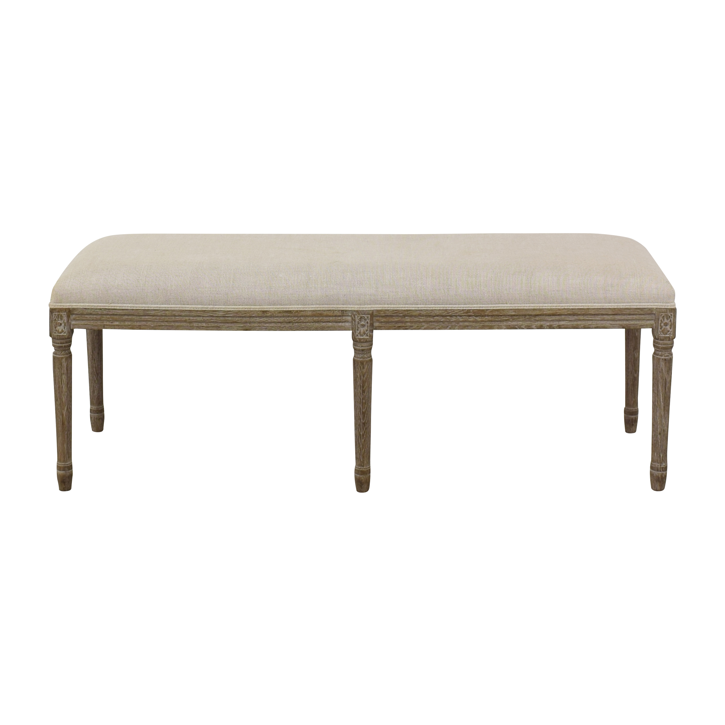 Restoration Hardware Restoration Hardware Louis Bench used