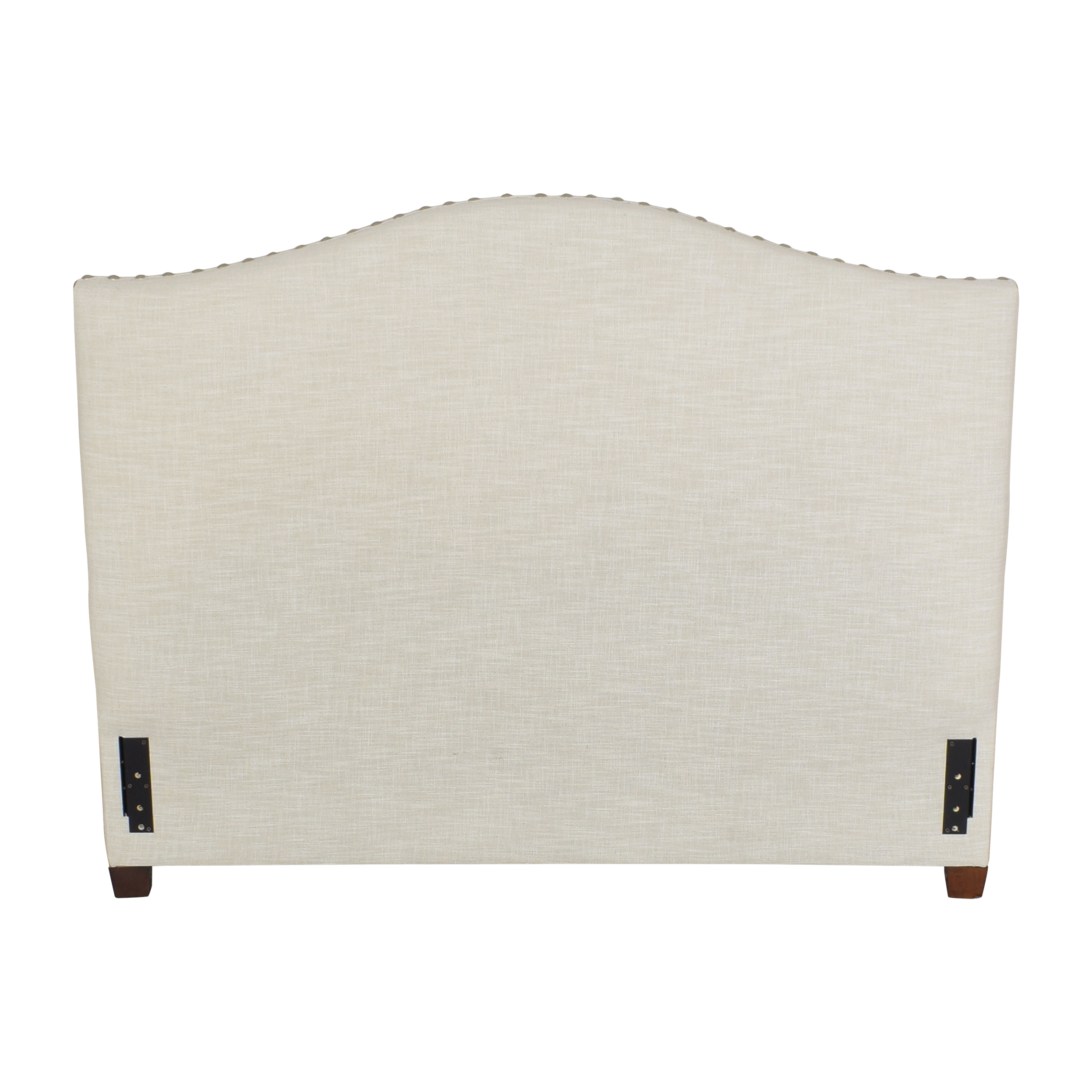 Pottery Barn Pottery Barn Raleigh Curved Upholstered Queen Headboard