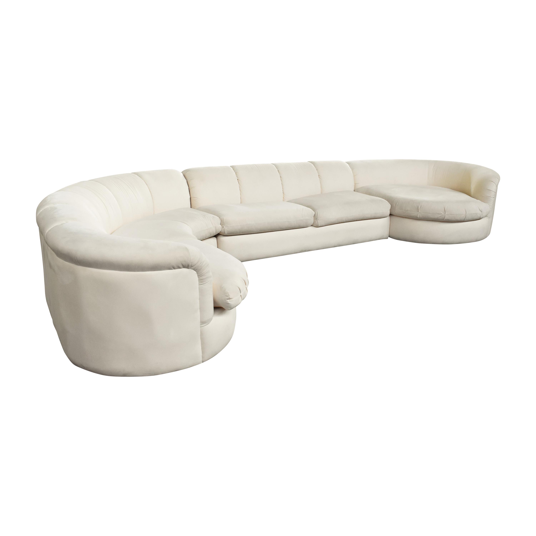 Jackson Chair Company Contemporary Living Sectional Sofa by Jackson Chair Company dimensions