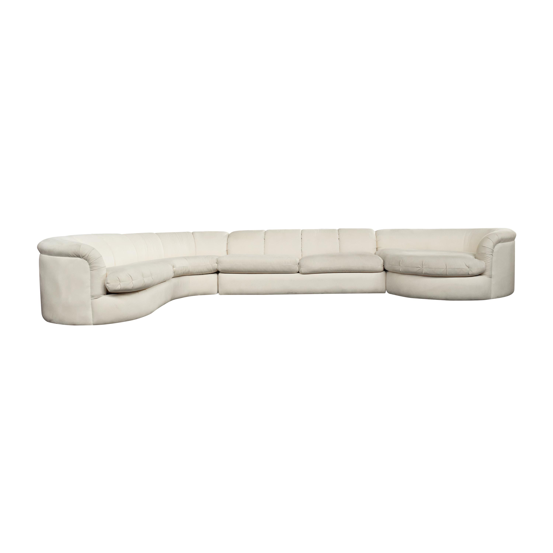 Jackson Chair Company Contemporary Living Sectional Sofa by Jackson Chair Company ct