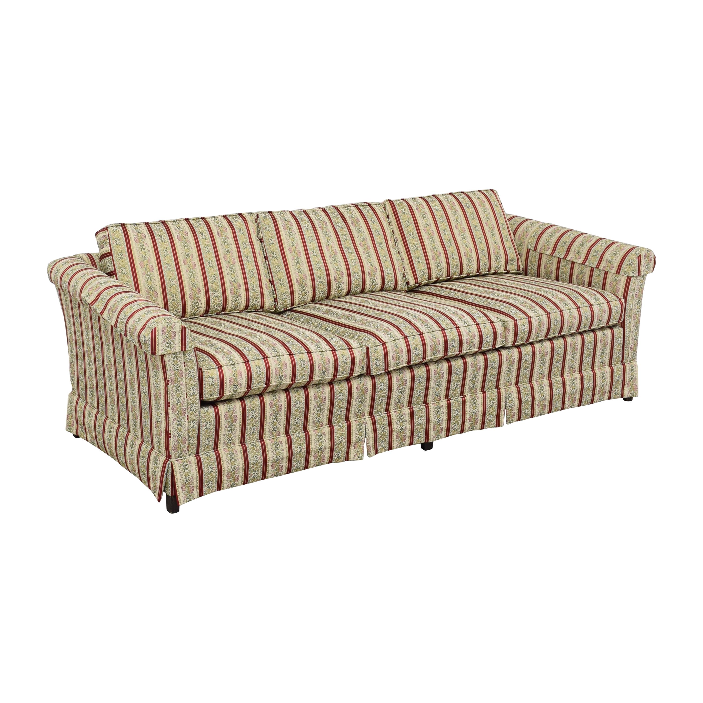 Ethan Allen Ethan Allen Traditional Classics Three Cushion Sofa nj