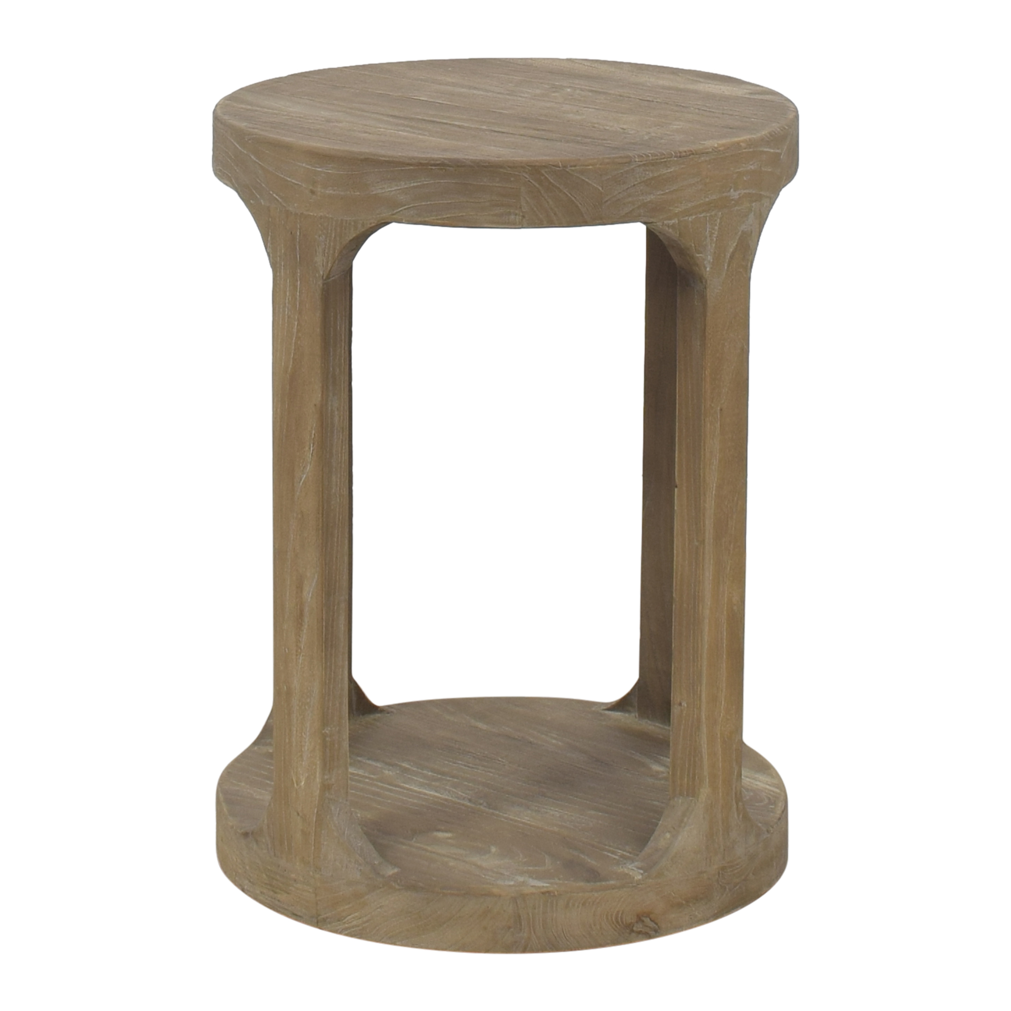 Restoration Hardware Restoration Hardware Martens Round Side Table  nj