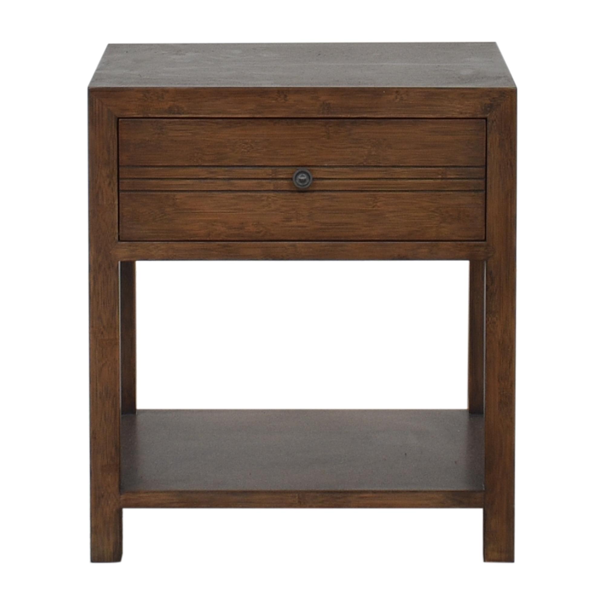 Crate & Barrel Maria Yee Single Drawer Nightstand sale