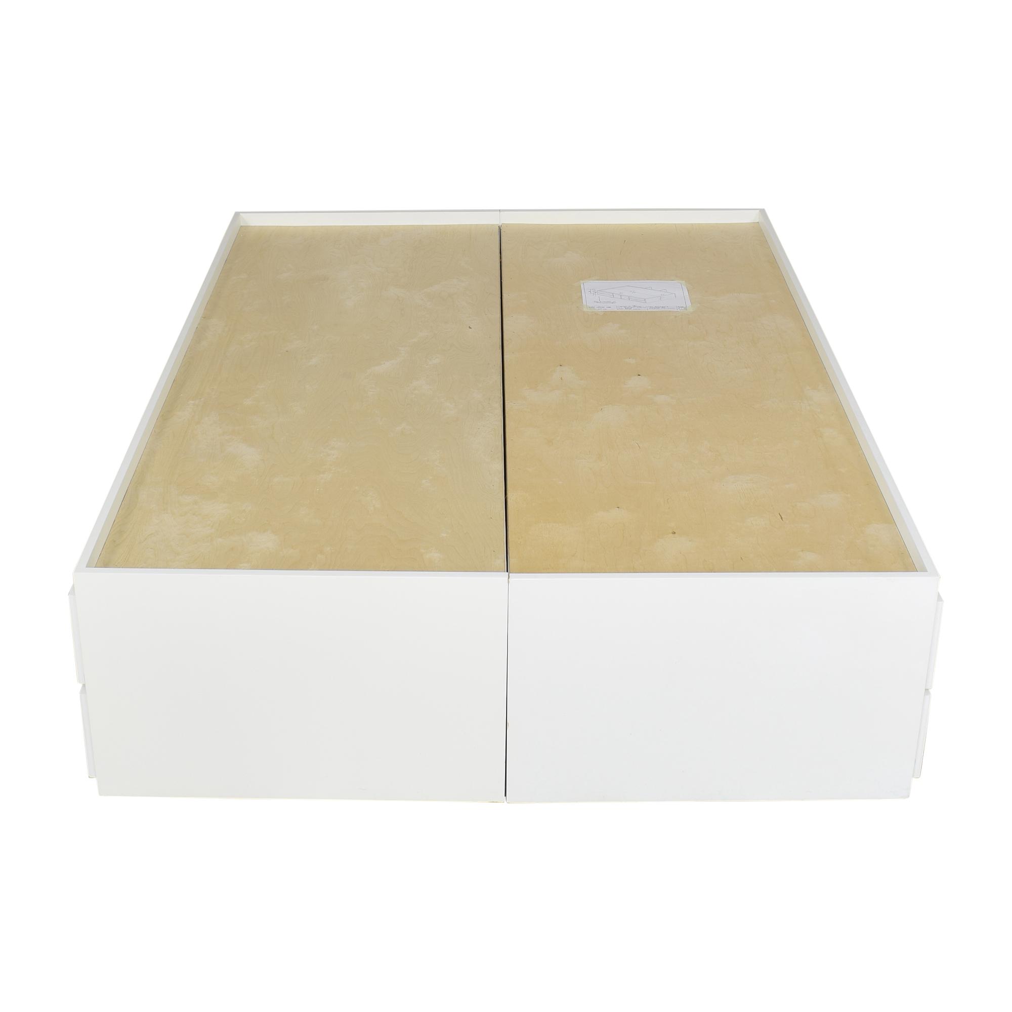 Gothic Cabinet Craft Gothic Cabinet Craft Custom Storage Queen Bed second hand