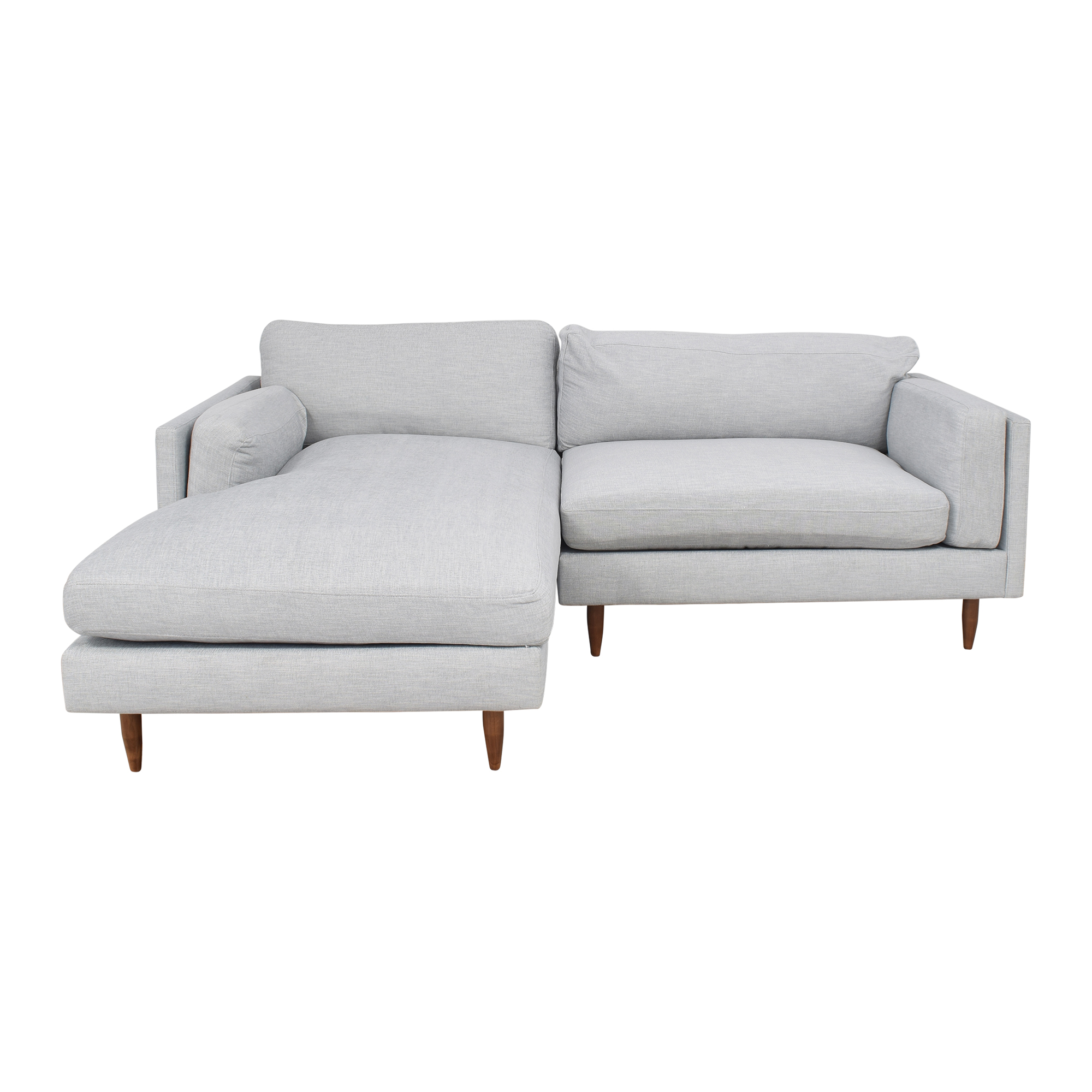 BenchMade Modern BenchMade Modern Skinny Fat Sofa With Chaise discount