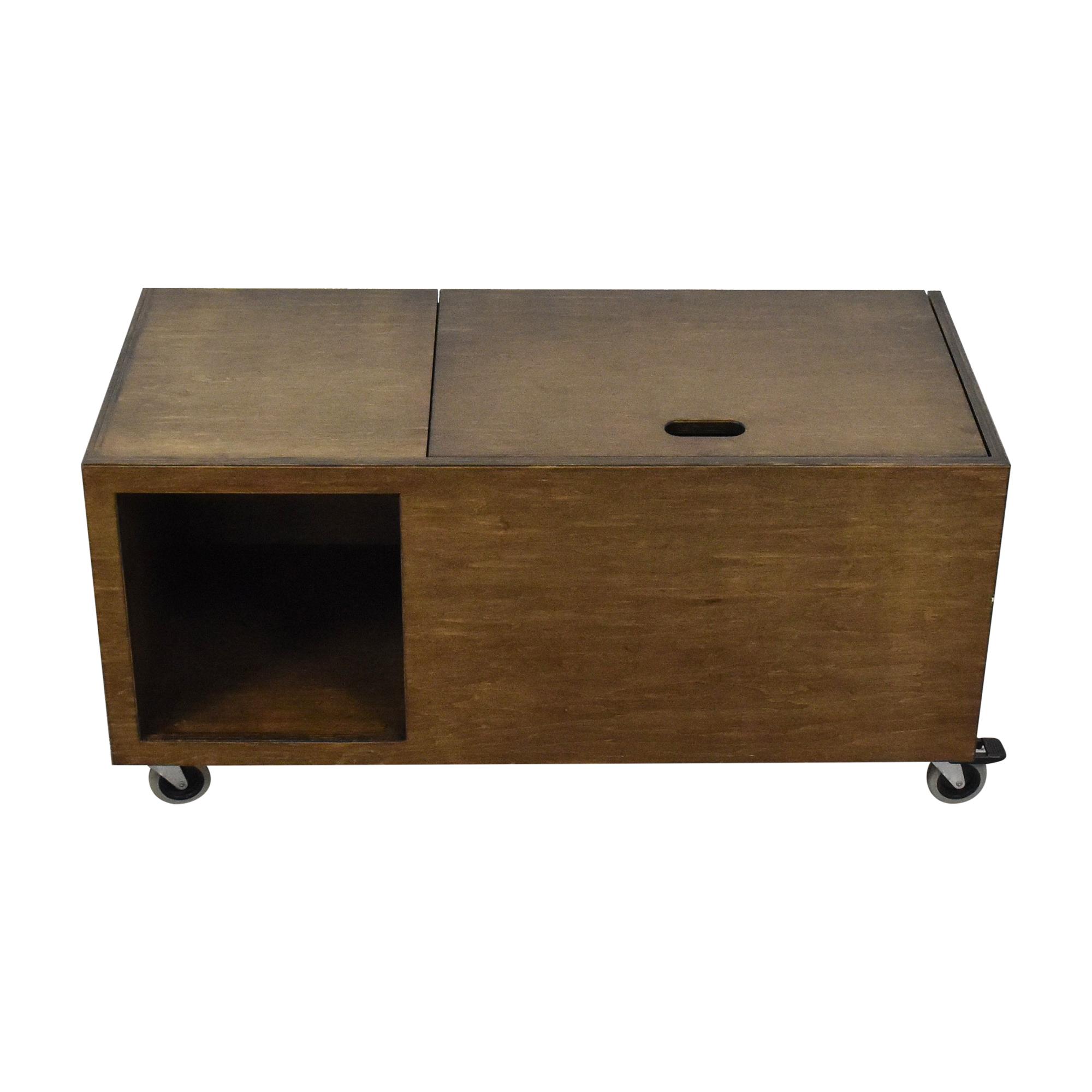 Custom Storage Unit on Casters