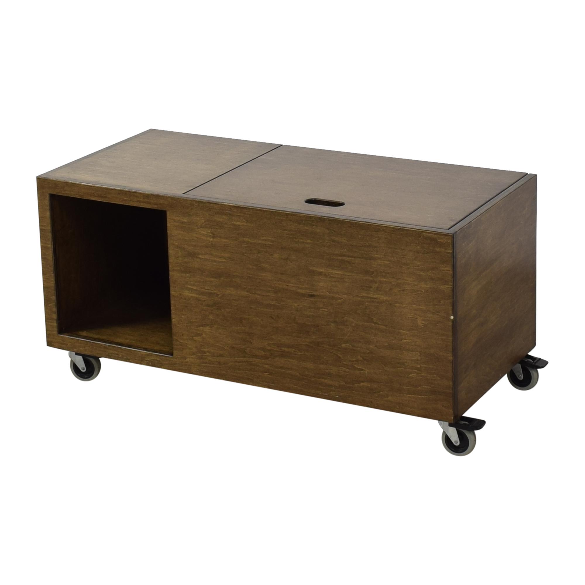 Custom Storage Unit on Casters ma