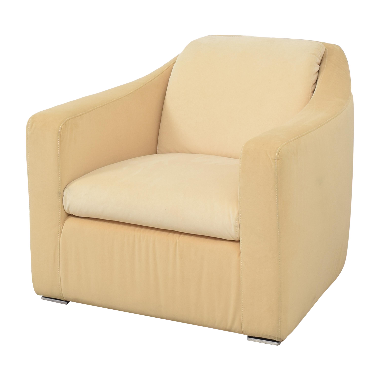 W. Schillig W. Schillig Club Chair yellow