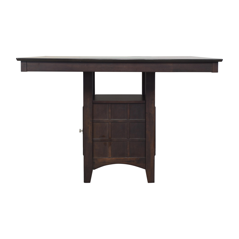Wayfair Landgraf Counter Height Pedestal Dining Table sale